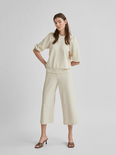 Hose 'SLFTENNY MW CROPPED WIDE PANT B'