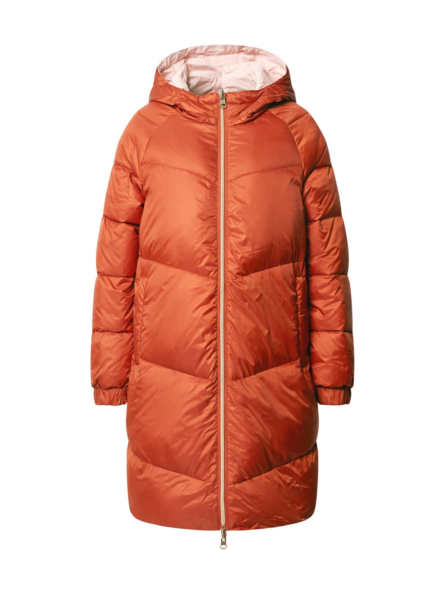 Rich & Royal Demisezoninis paltas rožių spalva / oranžinė-raudona