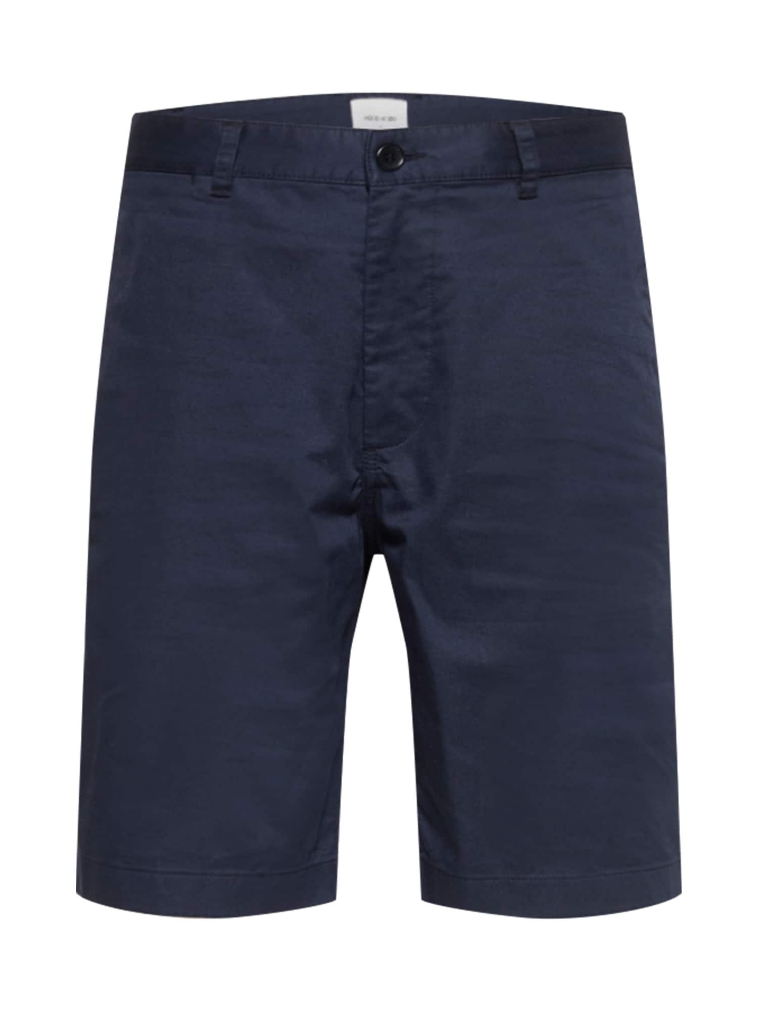 """WOOD WOOD """"Chino"""" stiliaus kelnės 'Jonathan' tamsiai mėlyna jūros spalva"""