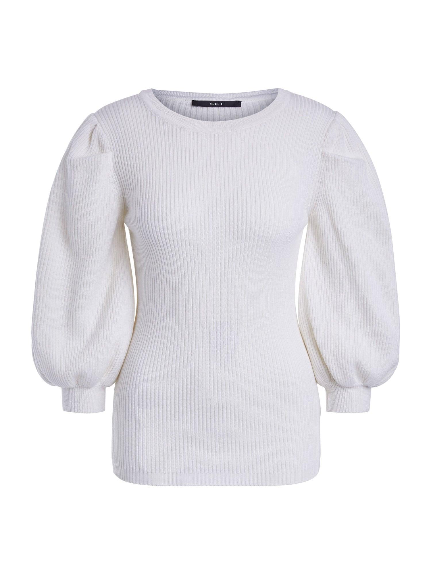 SET Megztinis balta
