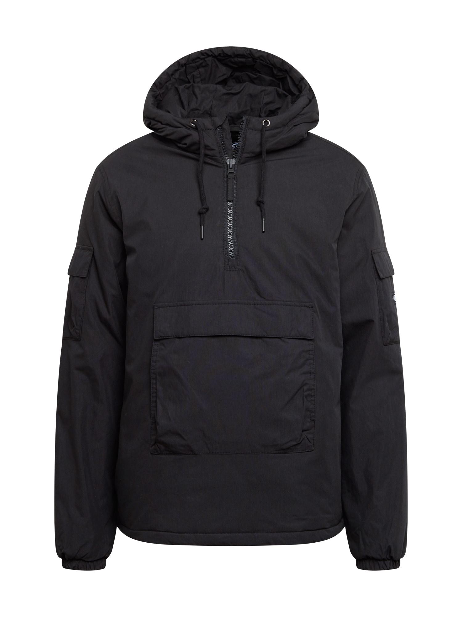 DICKIES Zimní bunda  černá