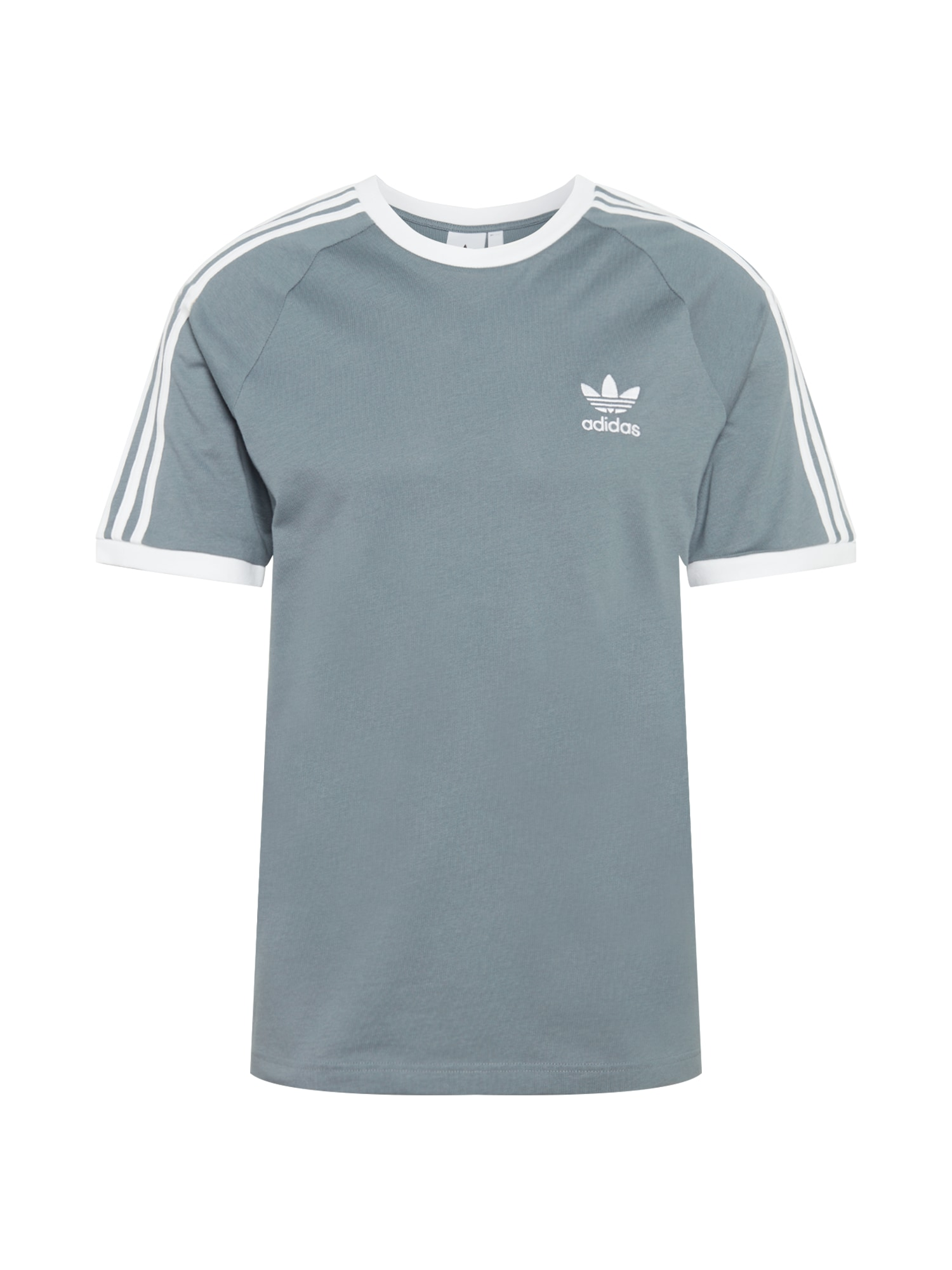 ADIDAS ORIGINALS Marškinėliai balta / pastelinė mėlyna