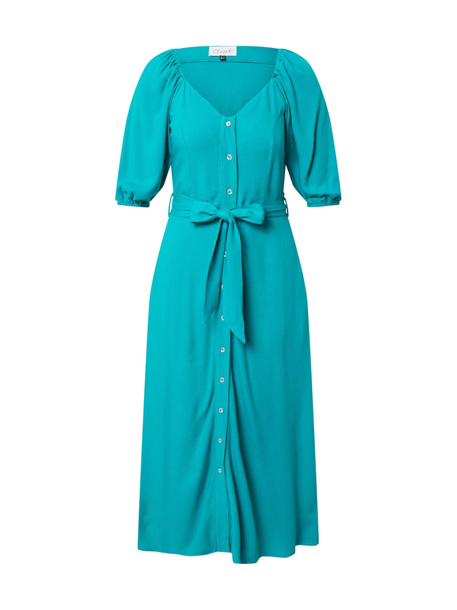 Closet London Palaidinės tipo suknelė turkio spalva