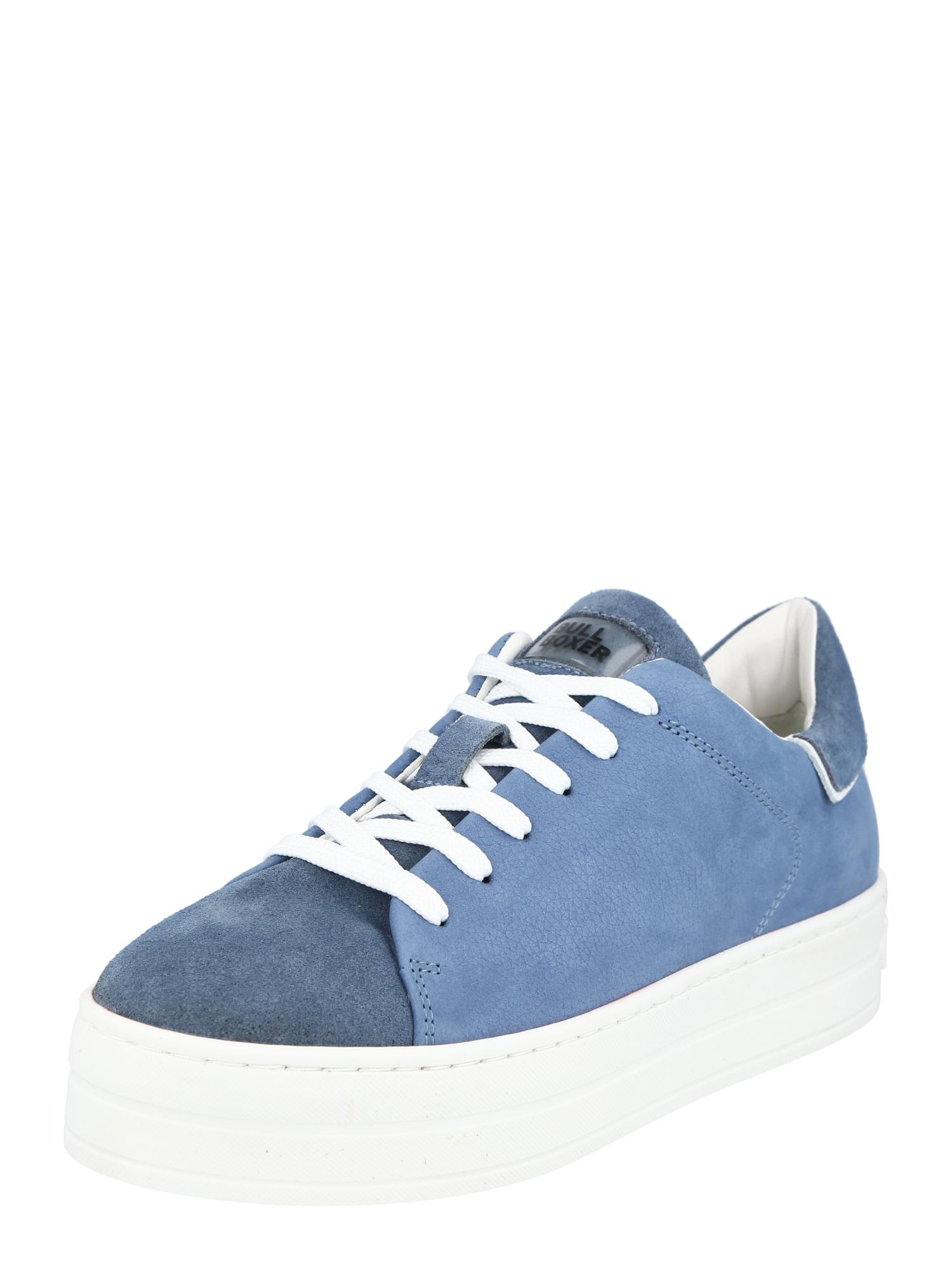 BULLBOXER Sportbačiai be auliuko mėlyna / mėlyna dūmų spalva