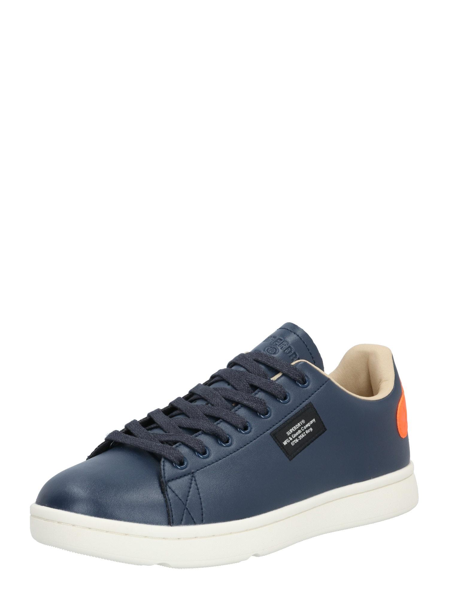 Superdry Sportiniai batai oranžinė / tamsiai mėlyna