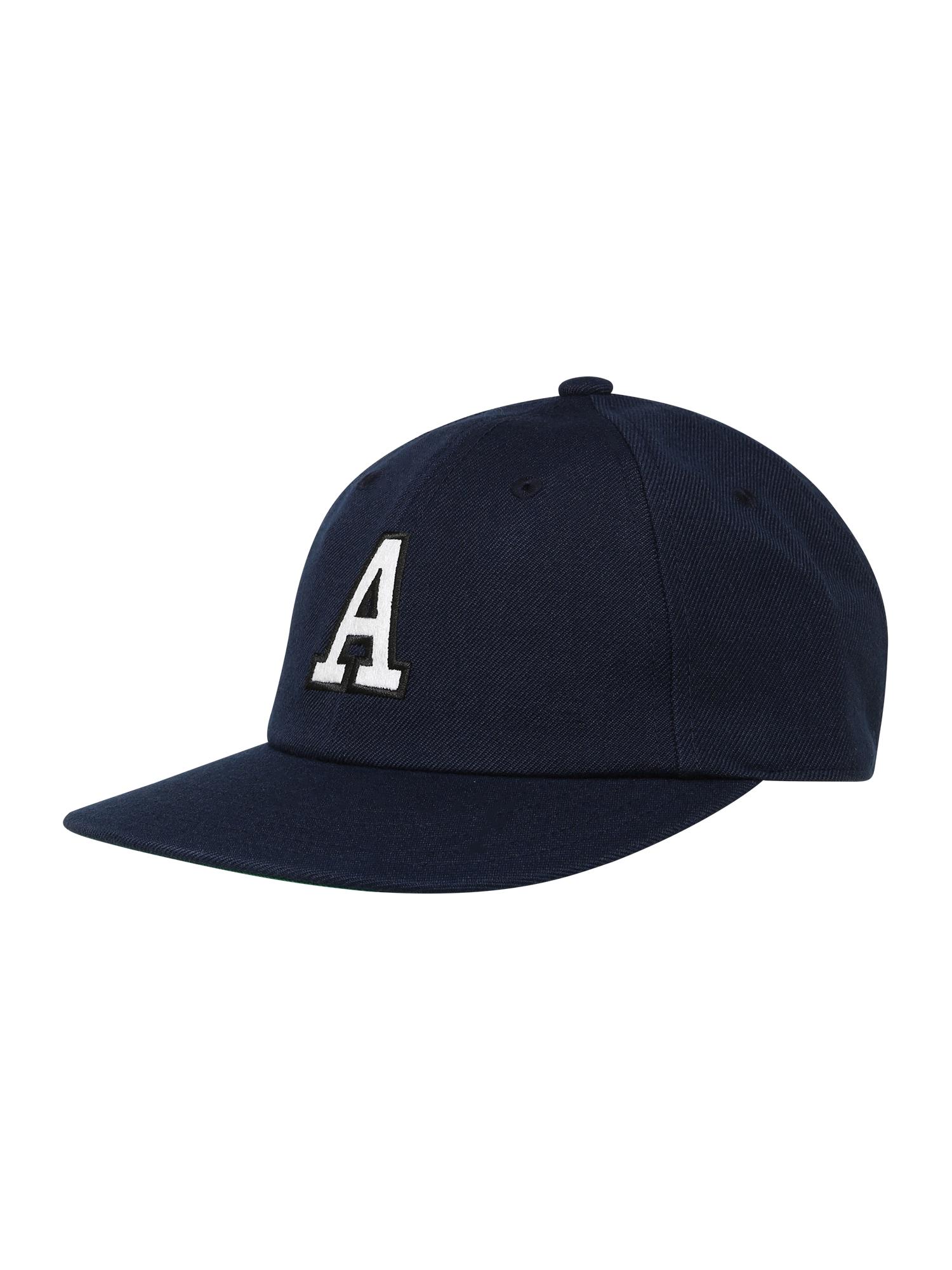 ADIDAS ORIGINALS Kepurė balta / tamsiai mėlyna