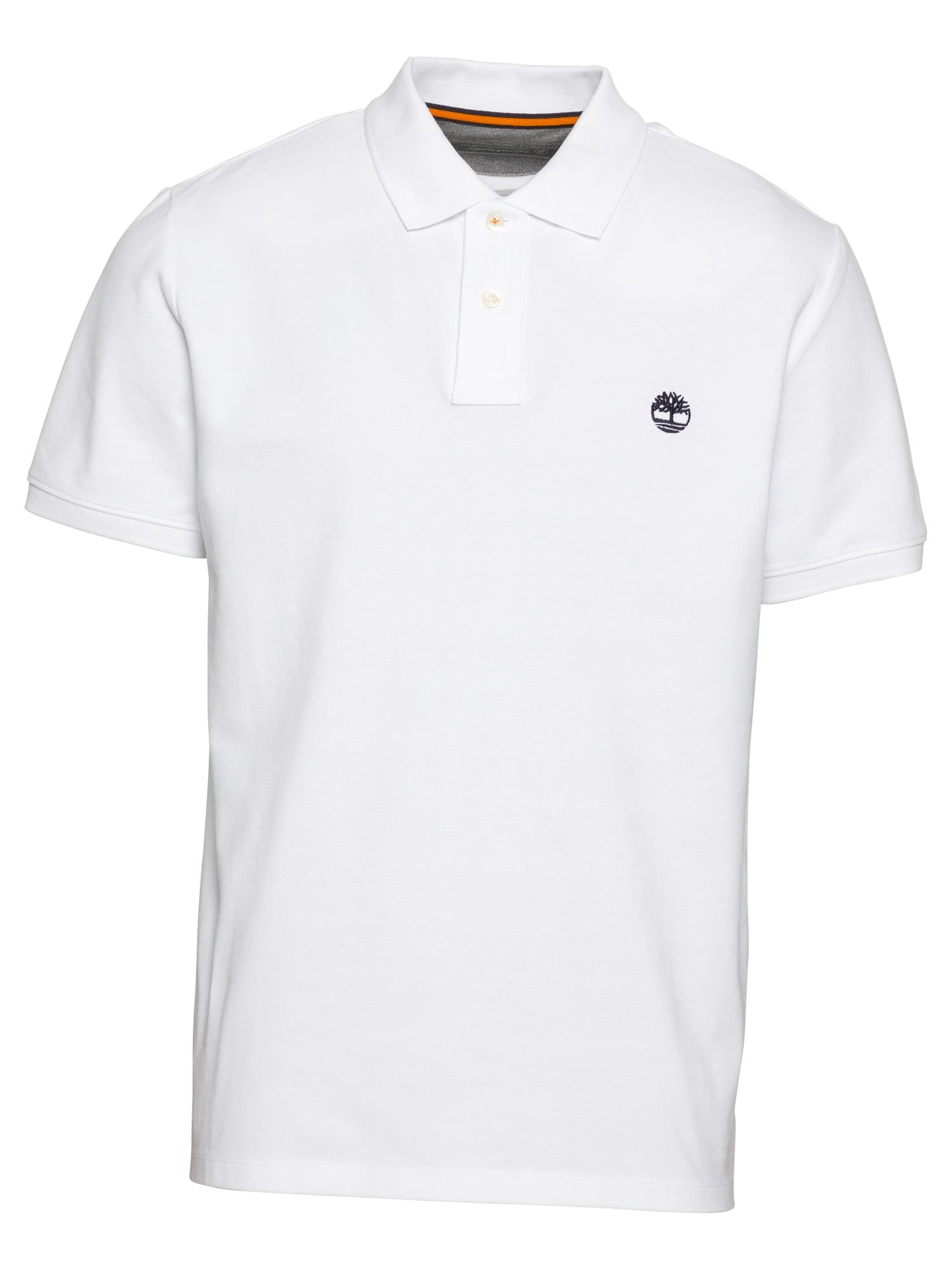 TIMBERLAND Marškinėliai balta / tamsiai mėlyna
