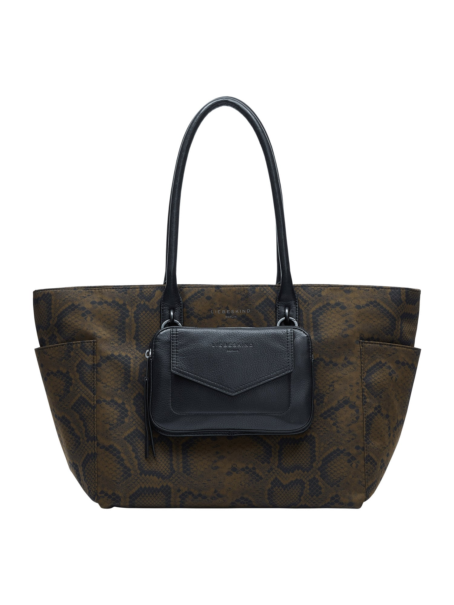 Liebeskind Berlin Pirkinių krepšys ruda / juoda