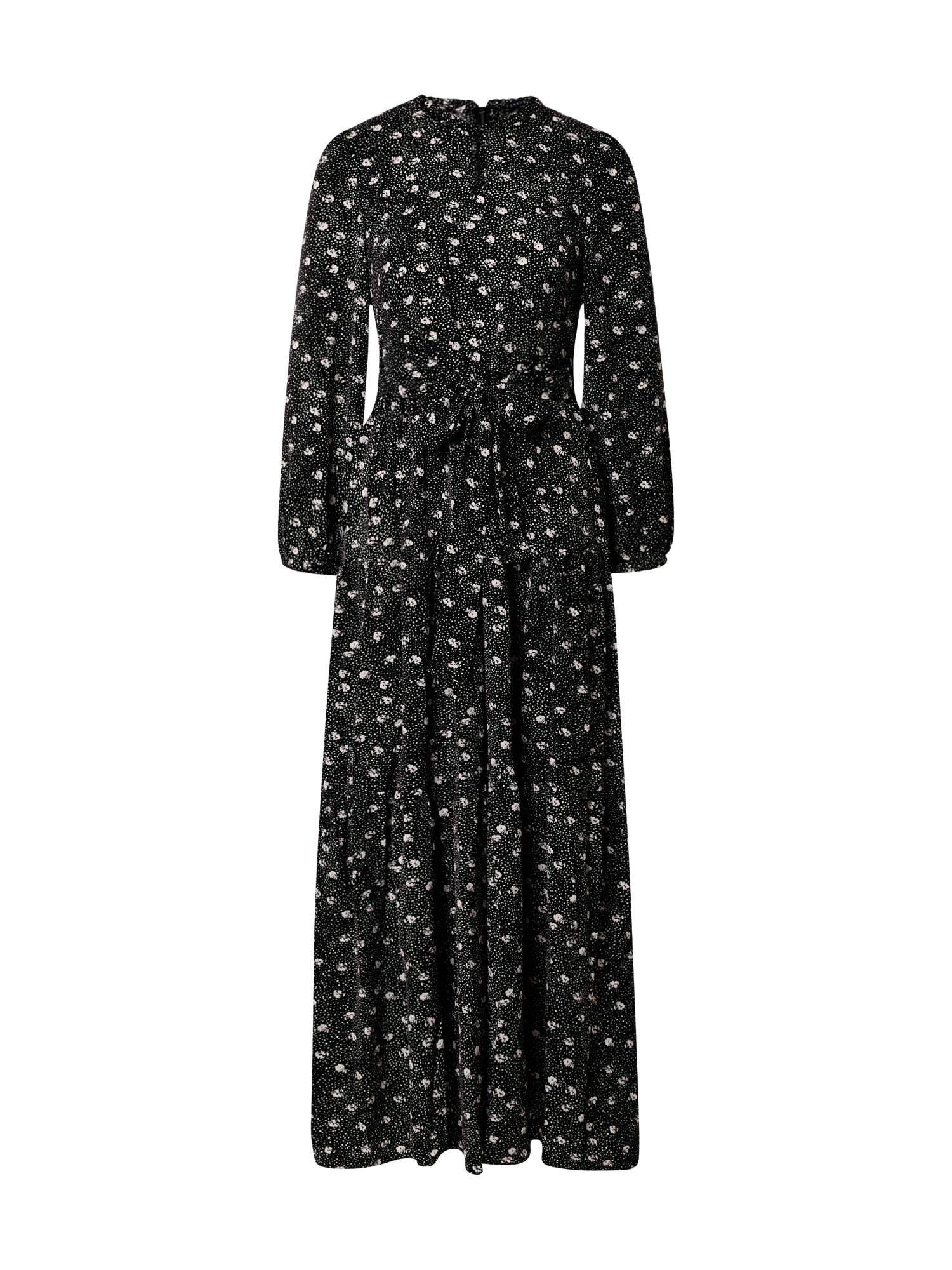 Funky Buddha Suknelė juoda / balta