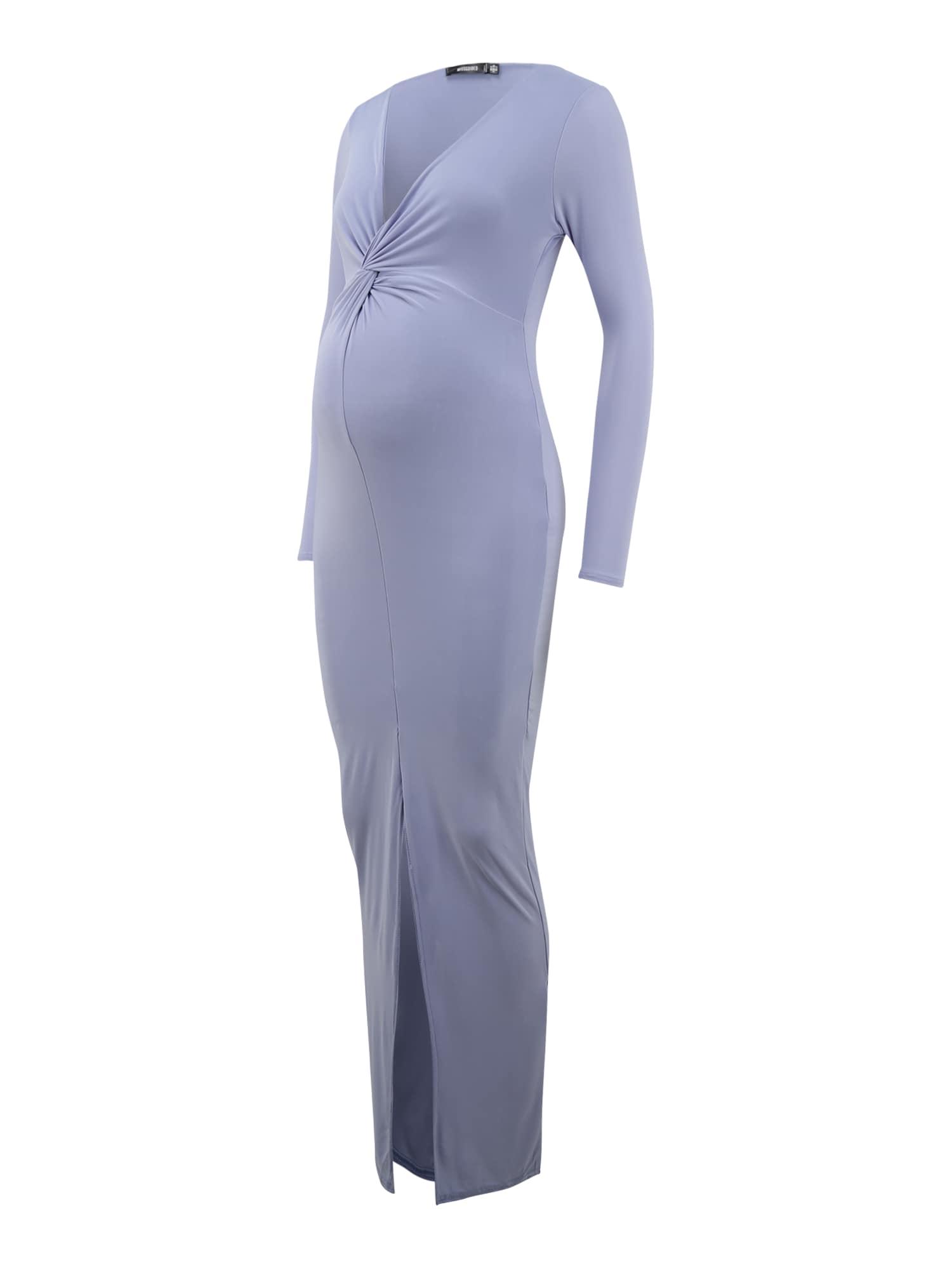 Missguided Maternity Suknelė mėlyna dūmų spalva