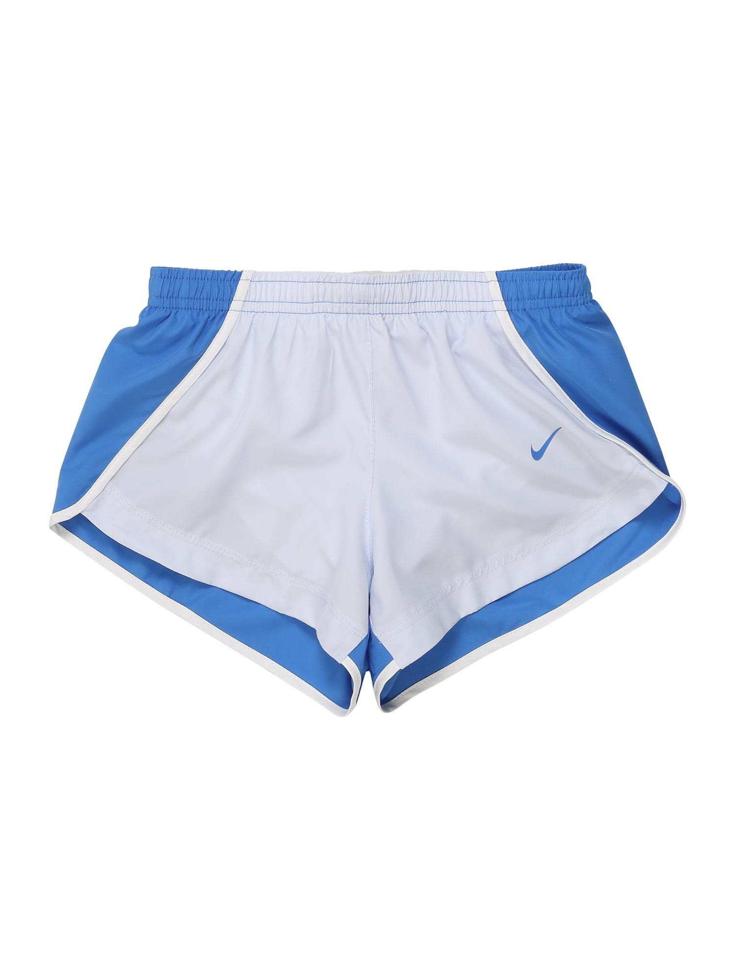 NIKE Sportinės kelnės mėlyna / šviesiai pilka