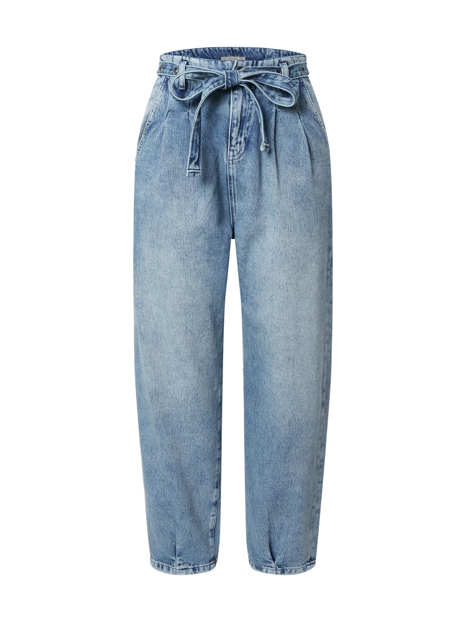 PATRIZIA PEPE Džinsai su kantu tamsiai (džinso) mėlyna