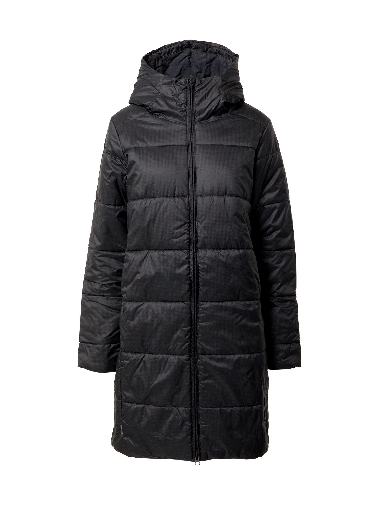 Icebreaker Laisvalaikio paltas juoda