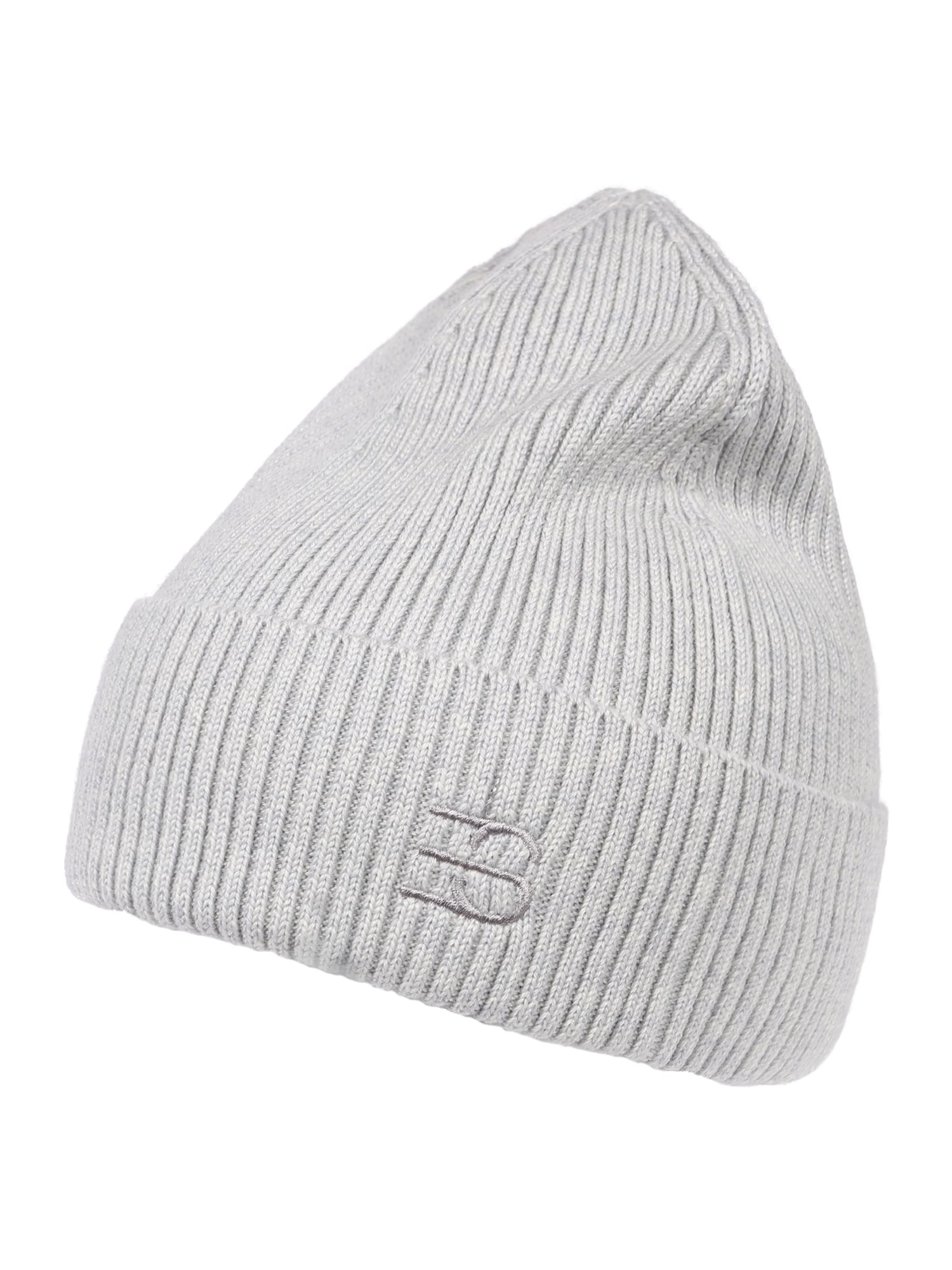 ESPRIT Megzta kepurė šviesiai pilka