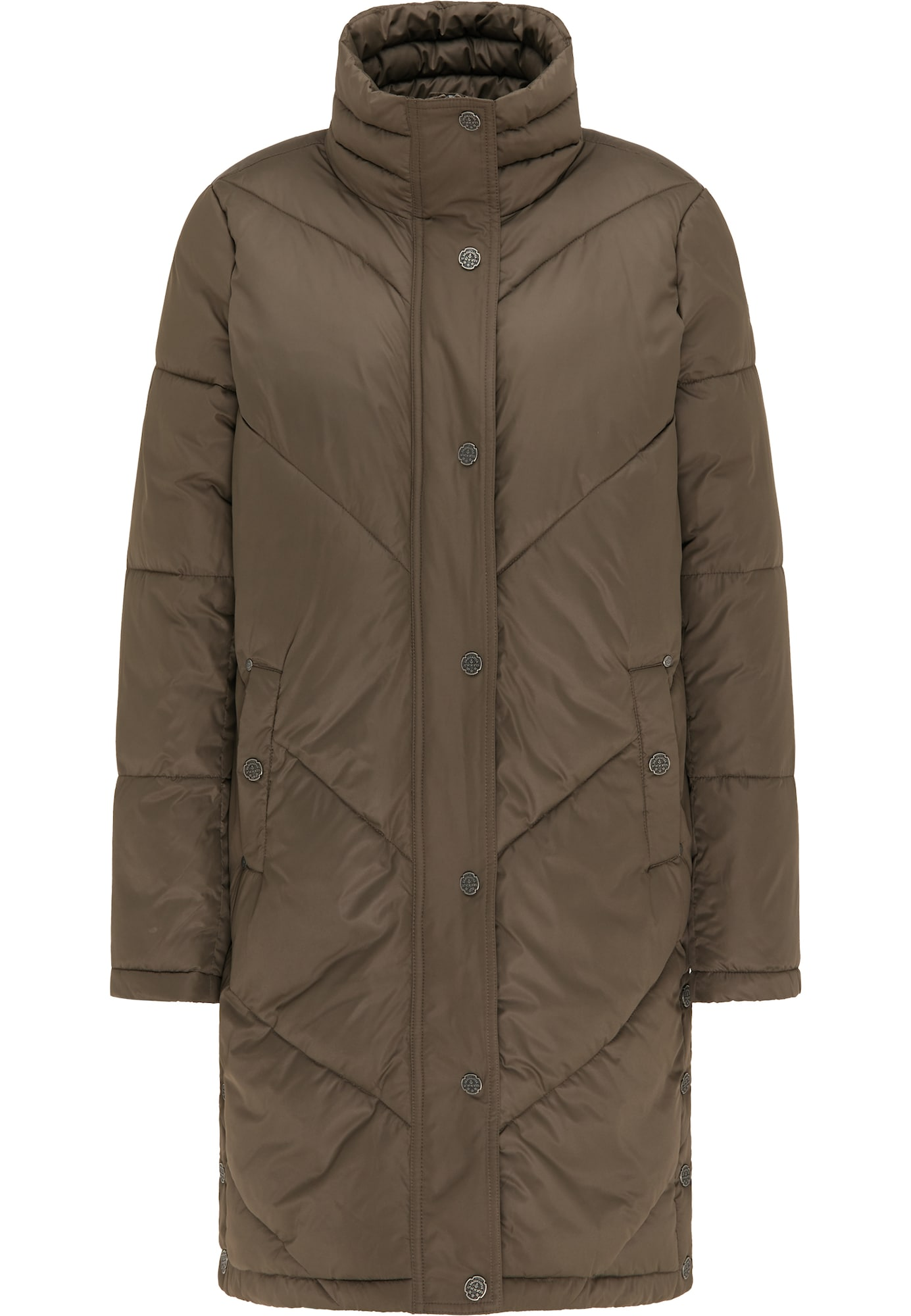 DreiMaster Vintage Žieminis paltas alyvuogių spalva