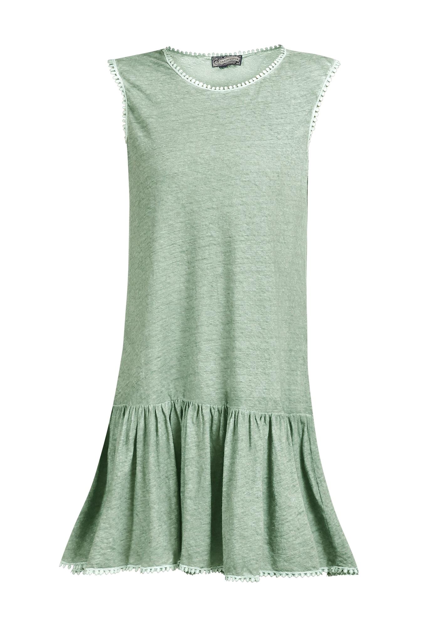 DreiMaster Vintage Vasarinė suknelė mėtų spalva