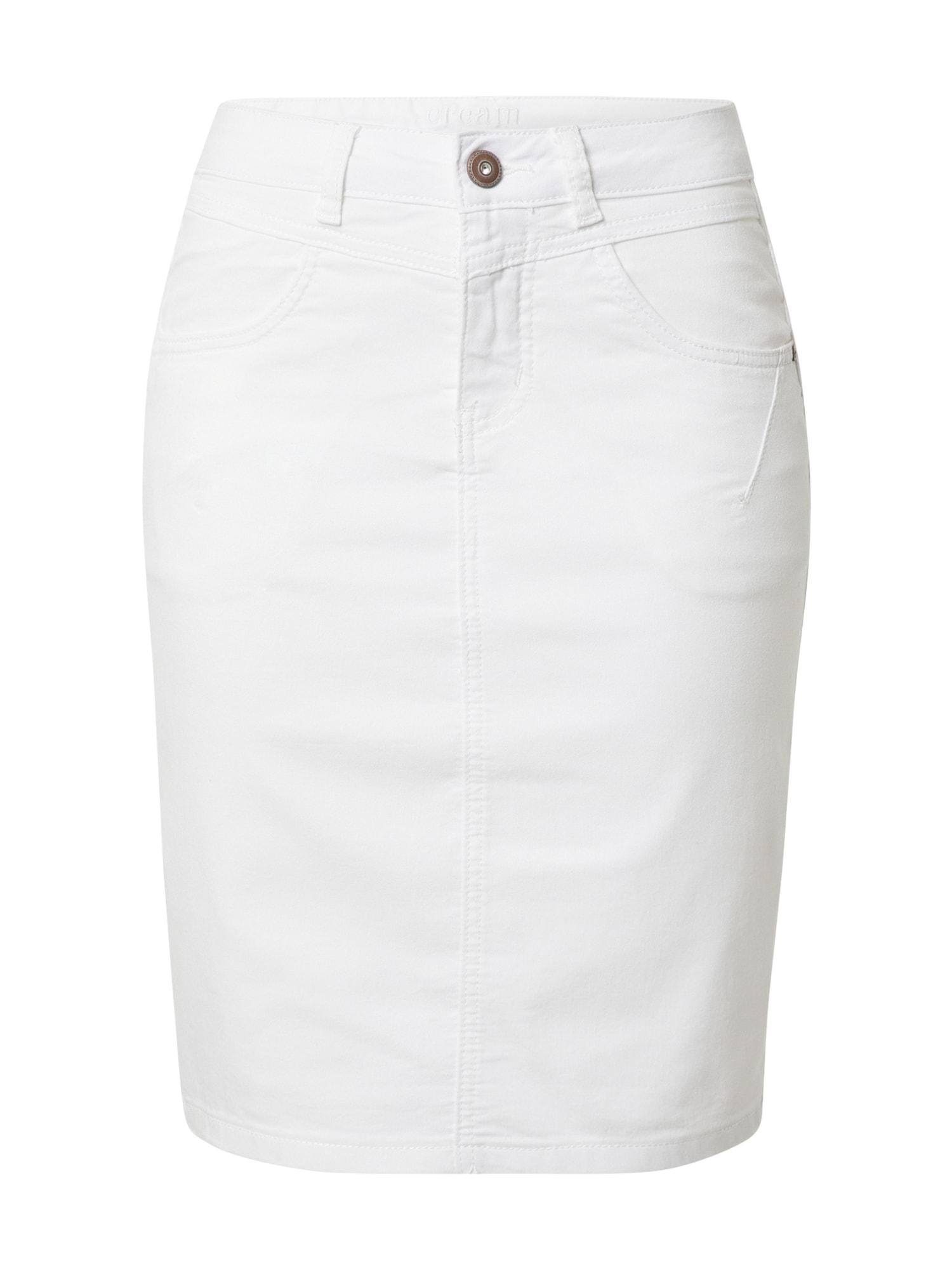 Cream Sukně 'Amalie'  bílá