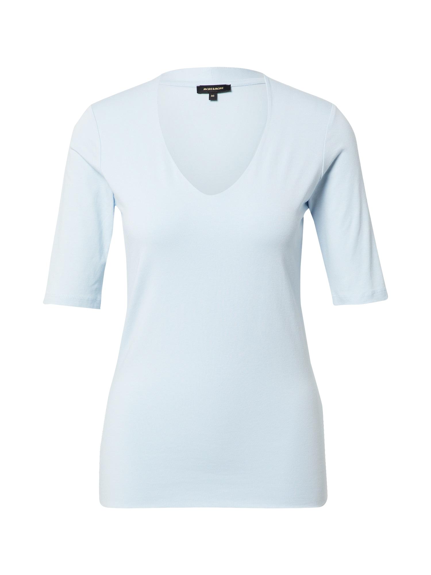 MORE & MORE Marškinėliai šviesiai mėlyna