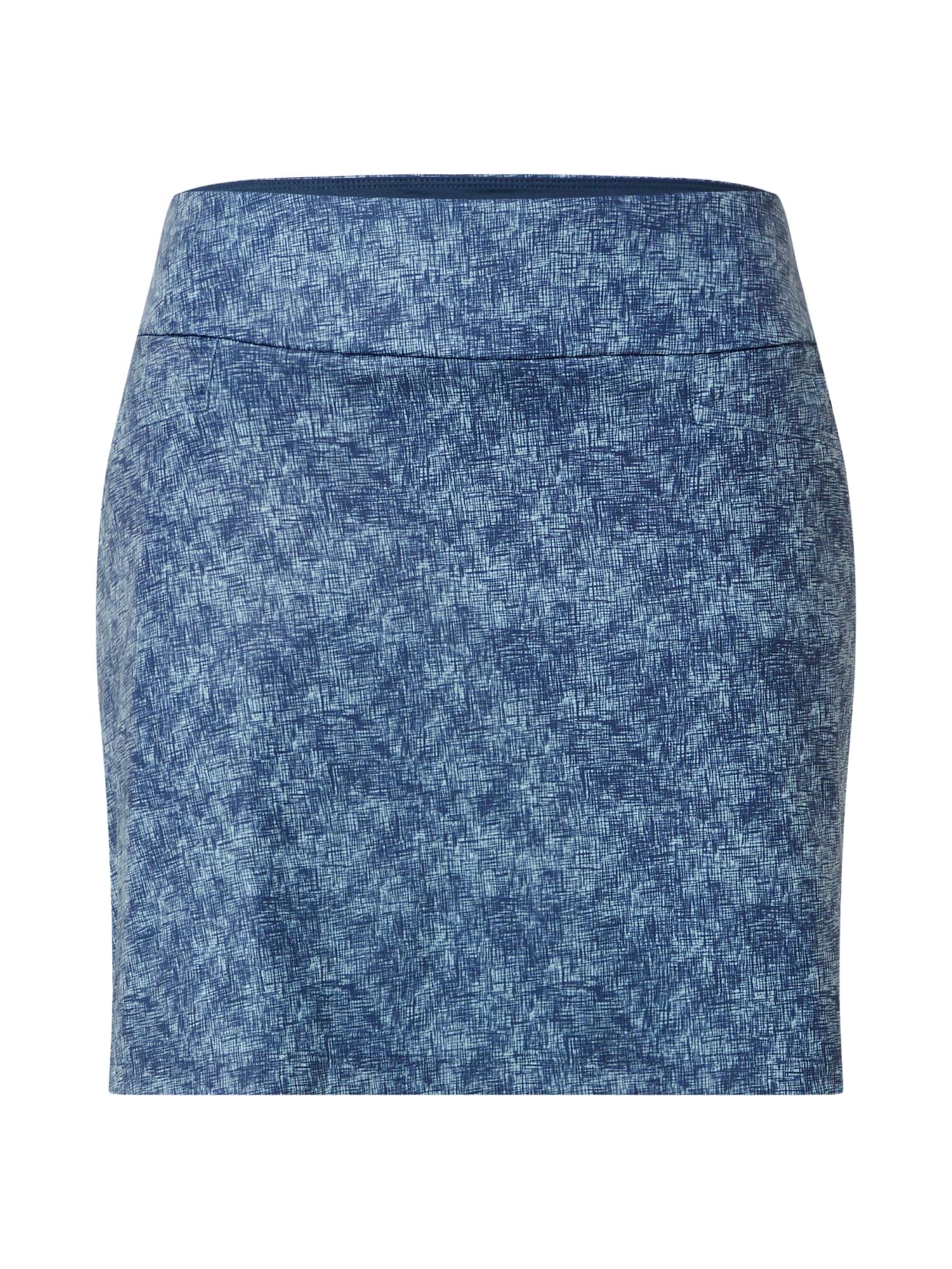 adidas Golf Sportinio stiliaus sijonas mėlyna / šviesiai mėlyna