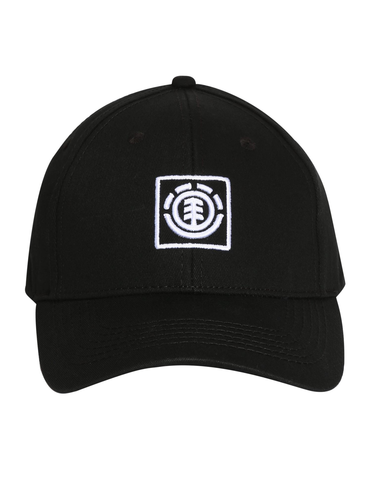 ELEMENT Sportinė kepurė juoda / balta