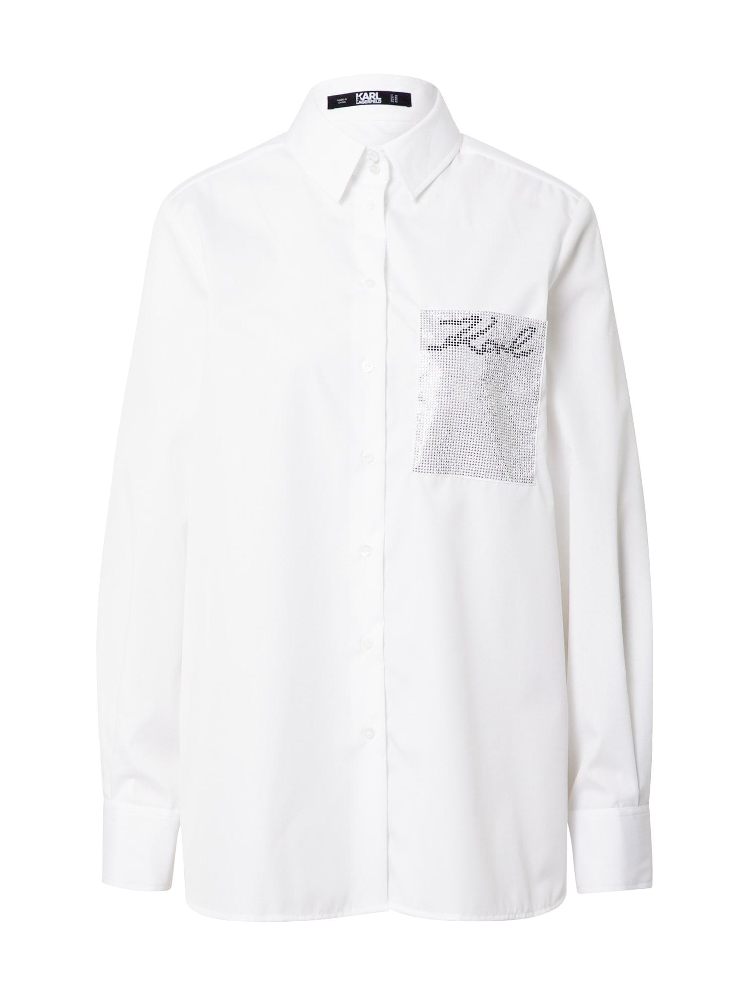 Karl Lagerfeld Palaidinė balta