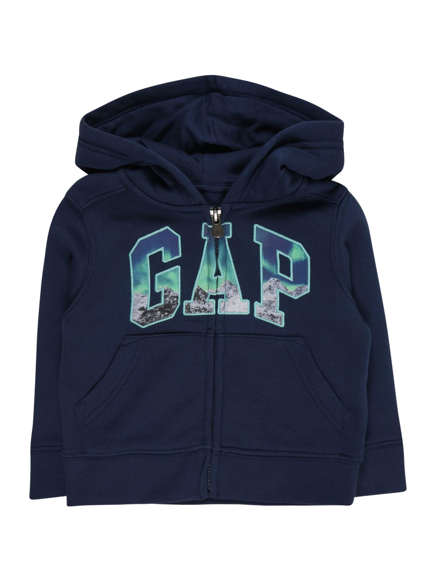GAP Džemperis tamsiai mėlyna / mišrios spalvos