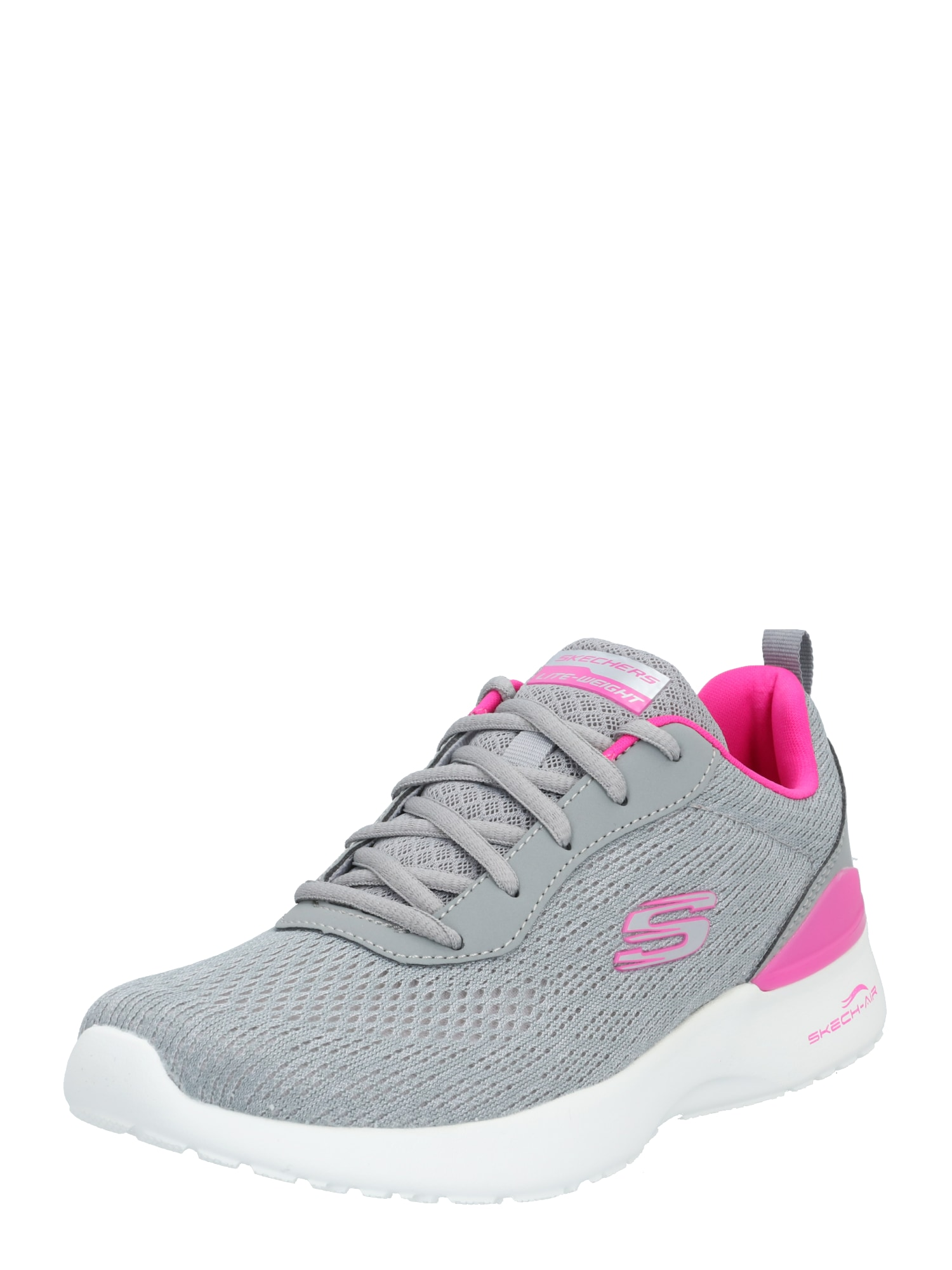 SKECHERS Tenisky  pink / šedá