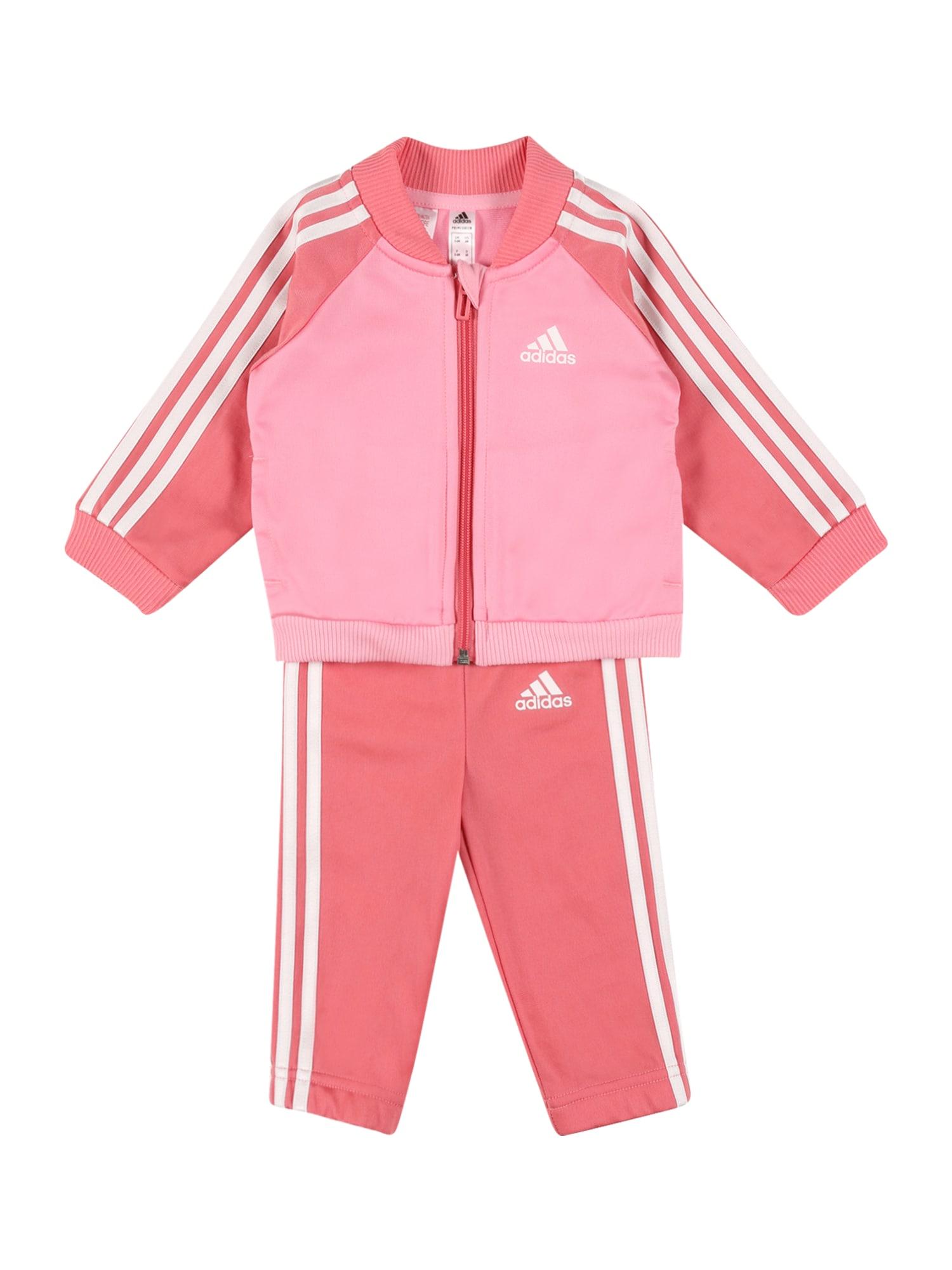 ADIDAS PERFORMANCE Treniruočių kostiumas rožinio aukso spalva / šviesiai rožinė