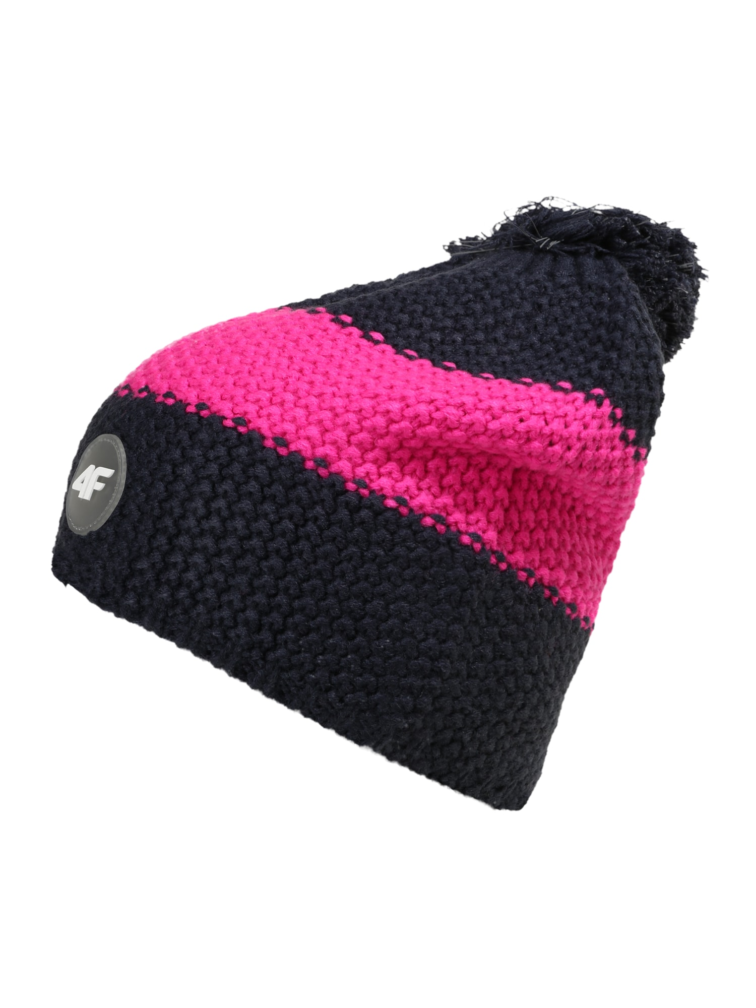 4F Sportinė kepurė tamsiai mėlyna / rožinė