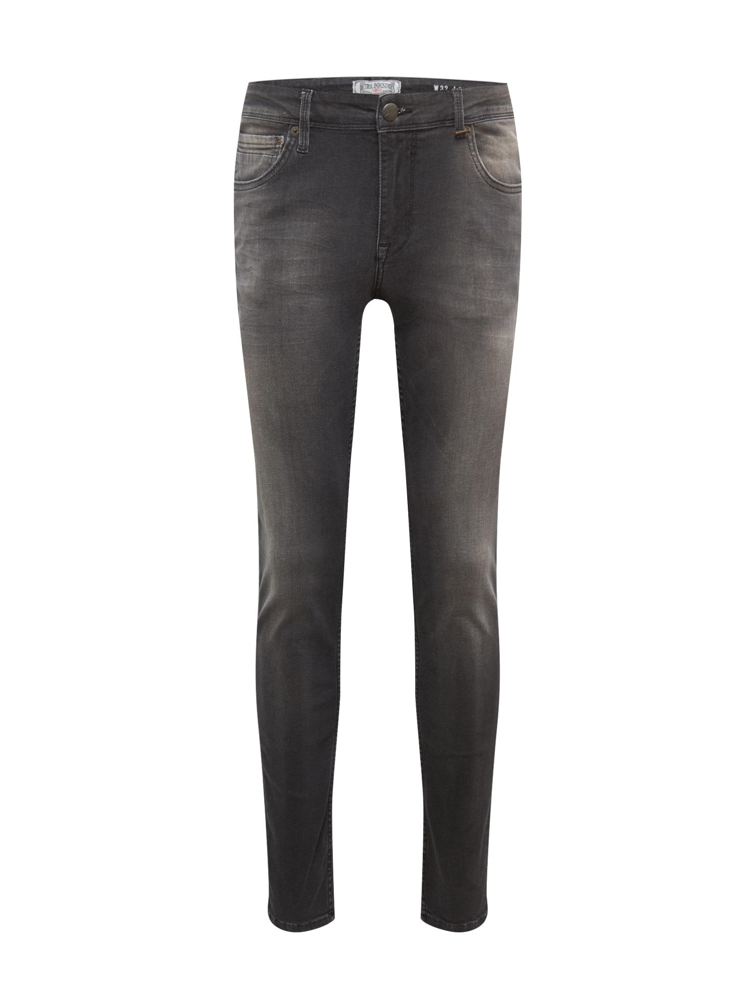 Petrol Industries Džinsai juodo džinso spalva / antracito