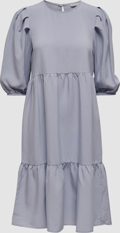 Only Viva Puff 3/4 Sleeve Midi Smock Dress