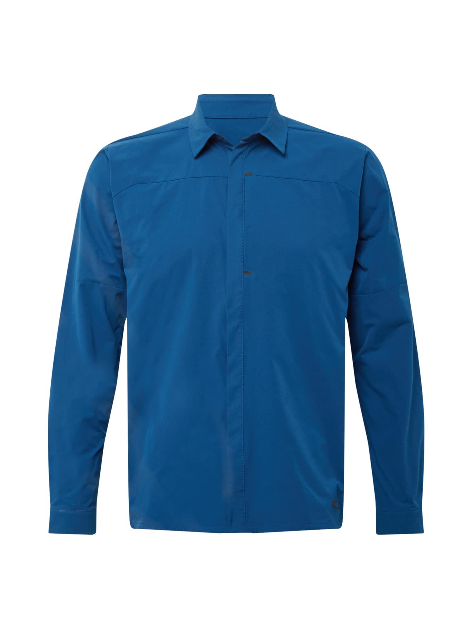 OAKLEY Funkciniai marškiniai tamsiai mėlyna
