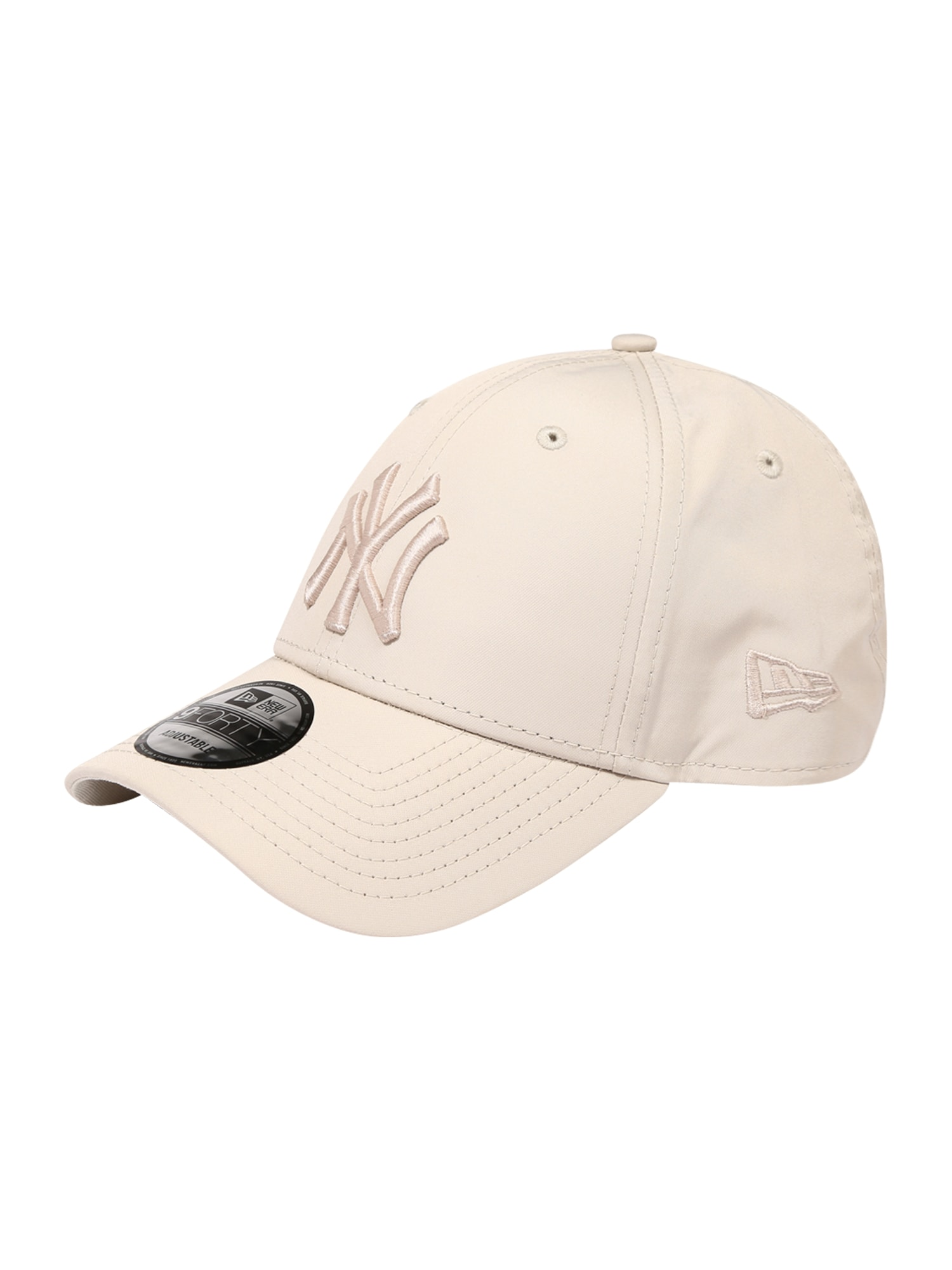 NEW ERA Kepurė gelsvai pilka spalva