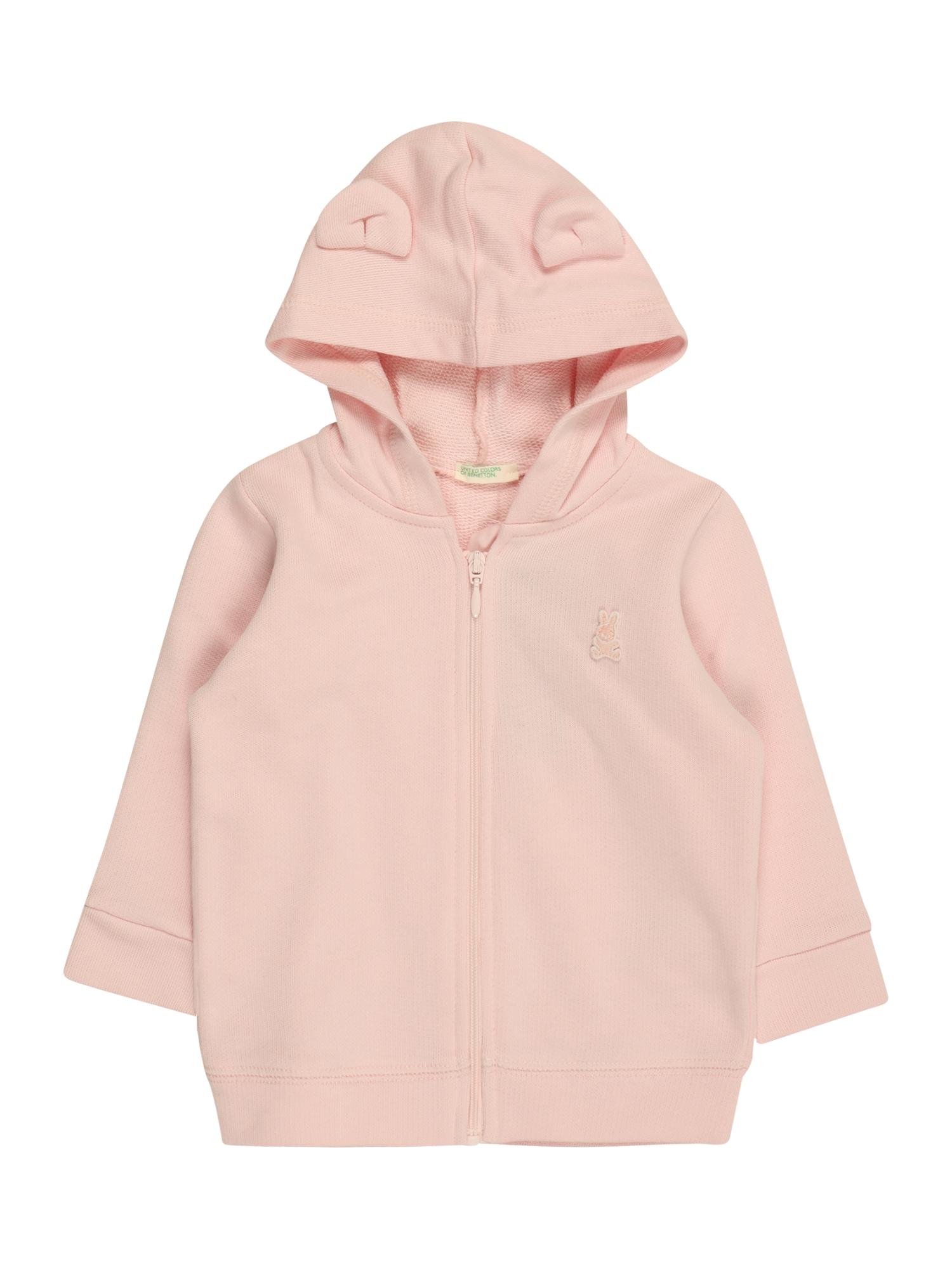 UNITED COLORS OF BENETTON Džemperis ryškiai rožinė spalva