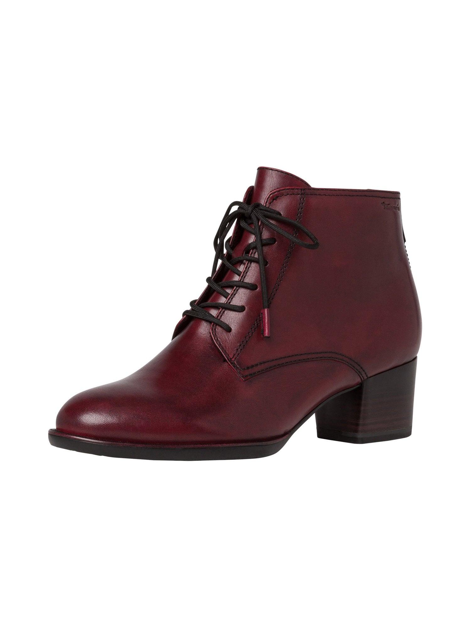 TAMARIS Kulkšnis dengiantys batai vyno raudona spalva