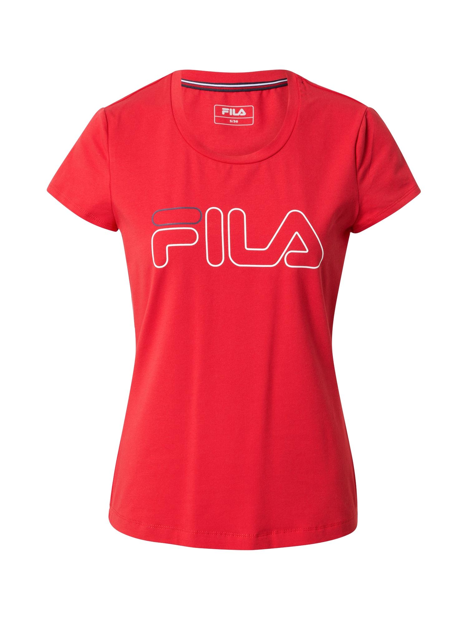 FILA Funkční tričko 'Reni'  červená