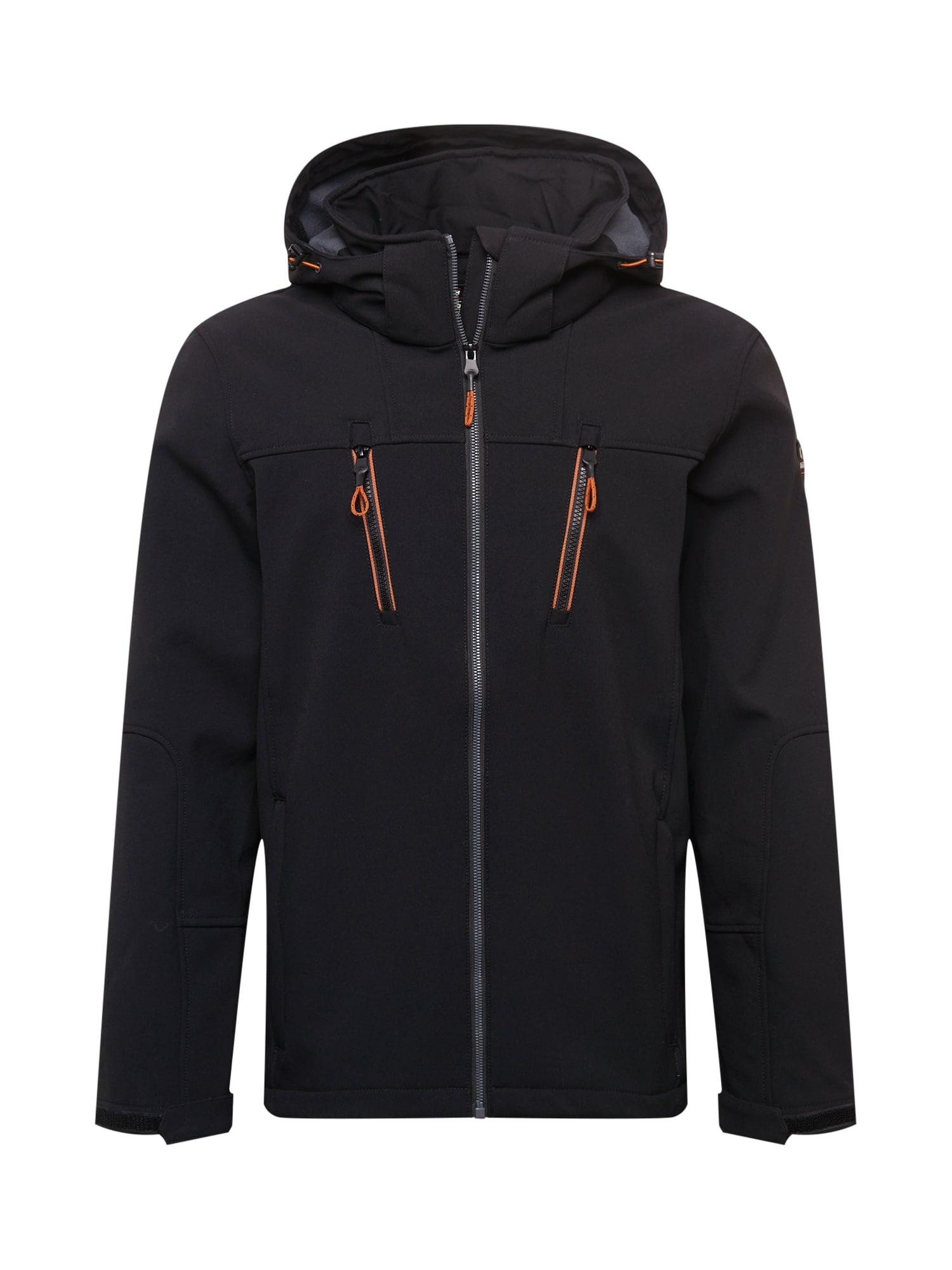 KILLTEC Sportovní bunda  černá