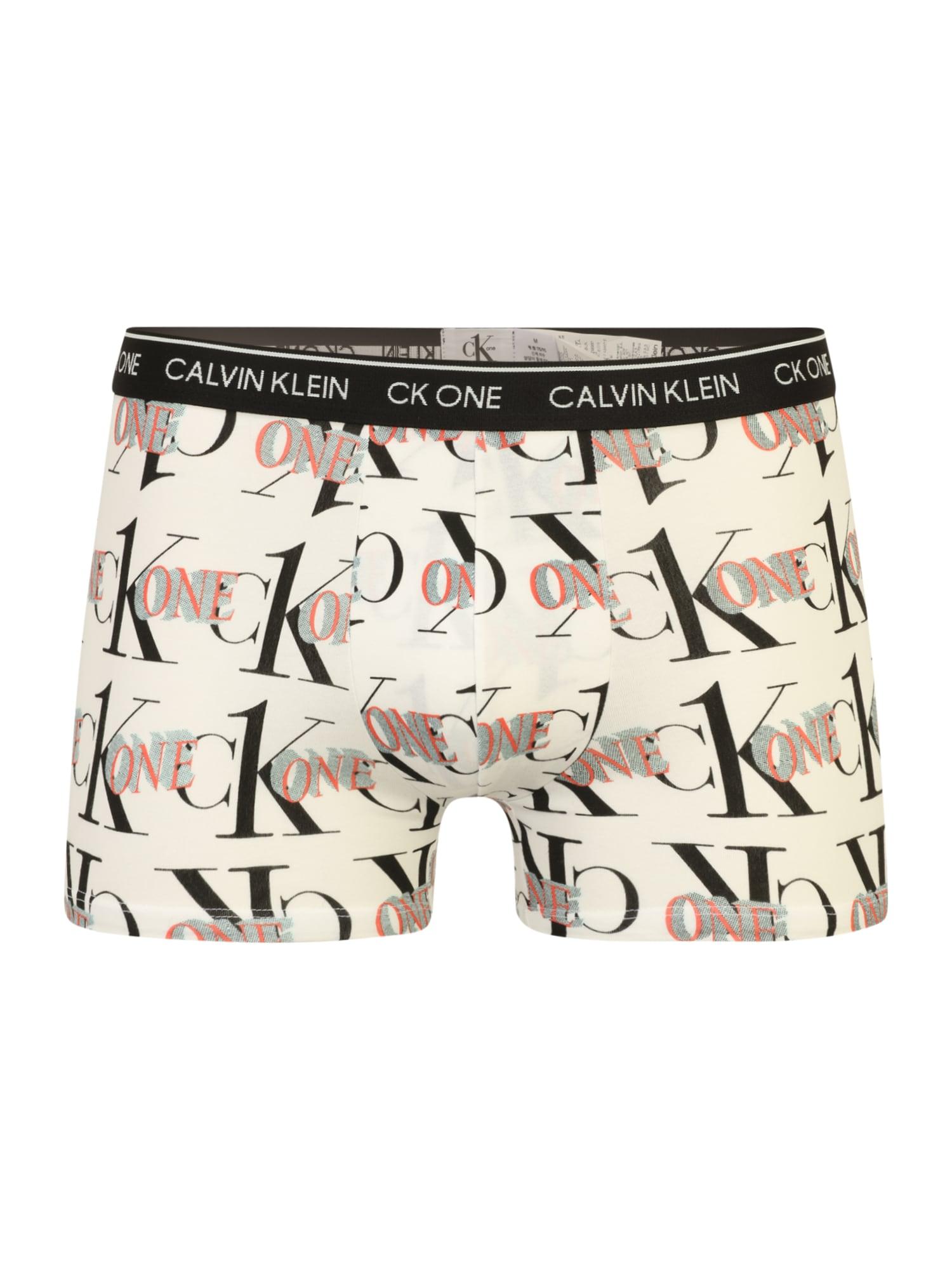 Calvin Klein Underwear Boxerky  černá / červená / bílá