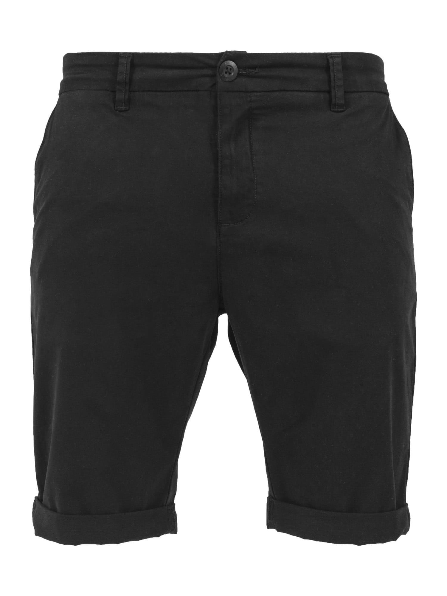 "Urban Classics ""Chino"" stiliaus kelnės juoda"