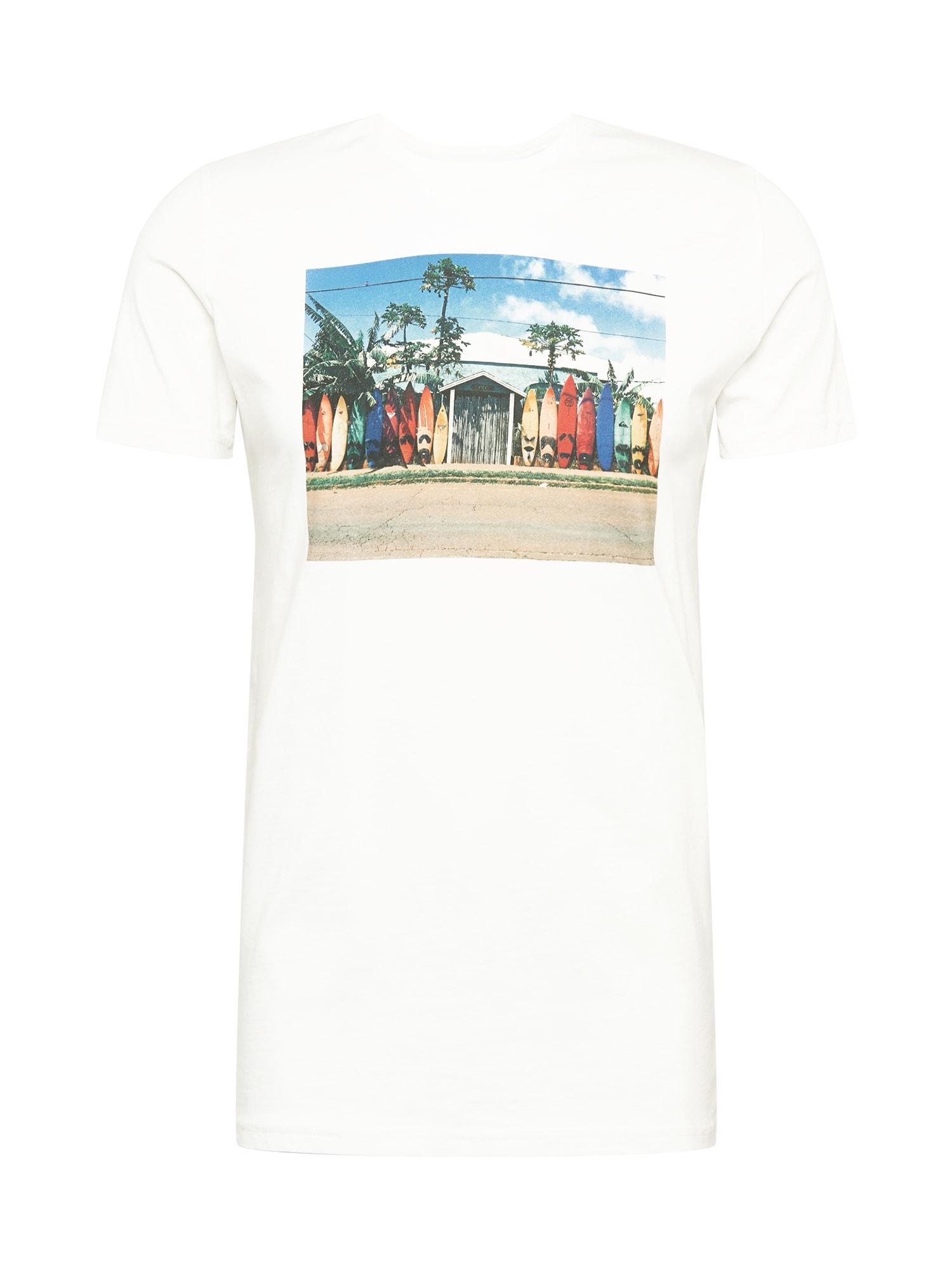 Kronstadt Marškinėliai mišrios spalvos / balta