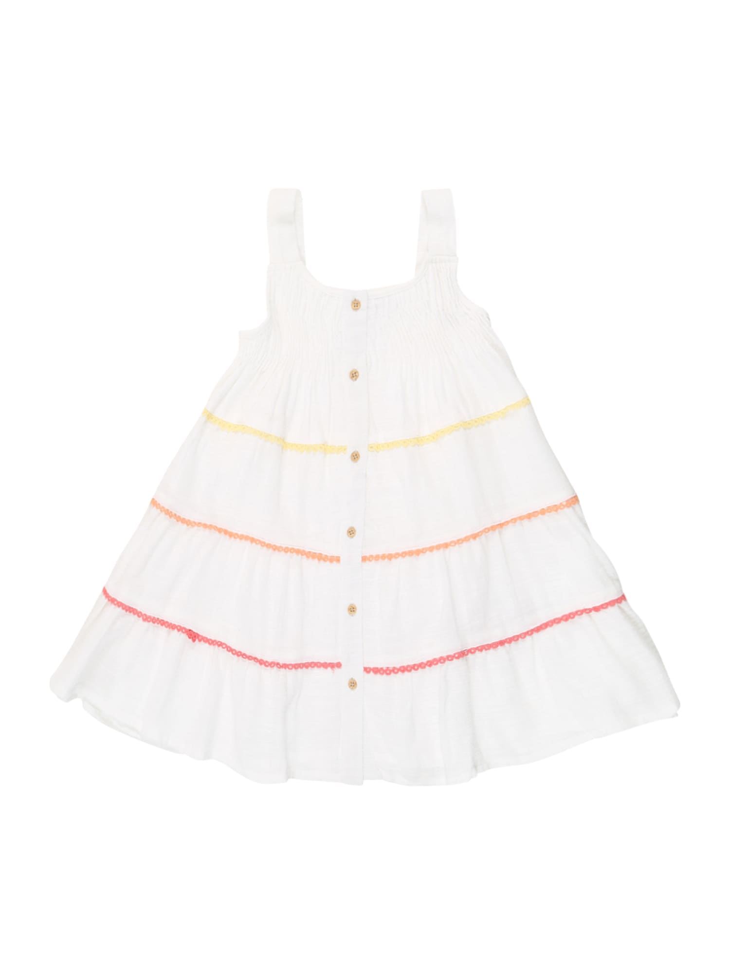 NAME IT Suknelė balta / geltona / raudona