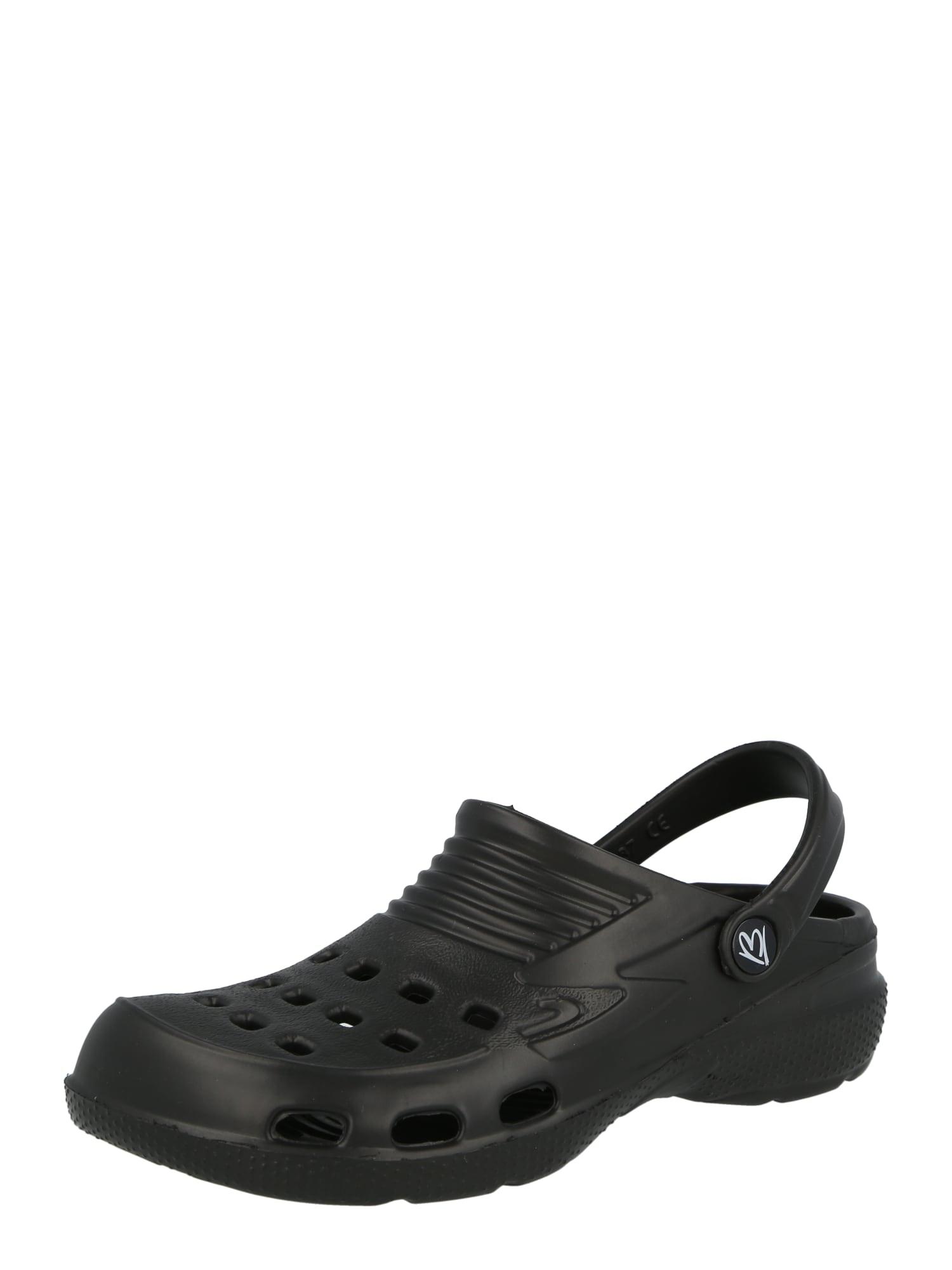BECK Atviri batai juoda