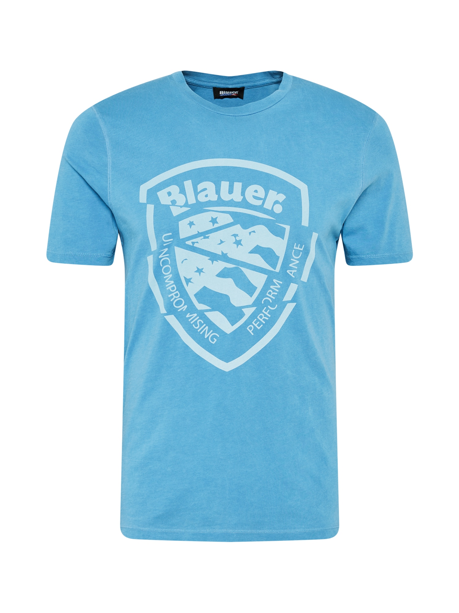 "Blauer.USA Marškinėliai sodri mėlyna (""karališka"") / azuro spalva"