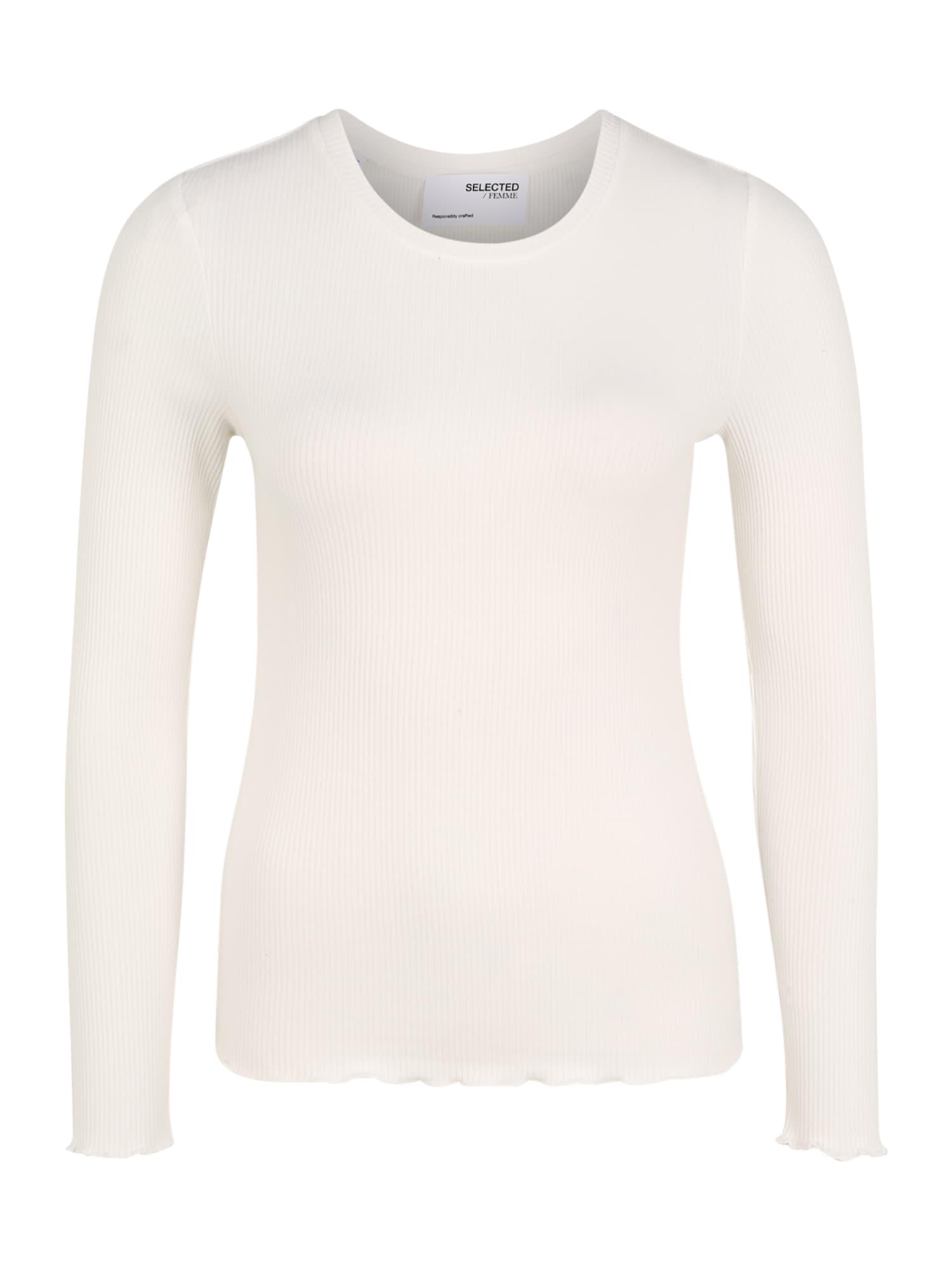 Selected Femme (Petite) Marškinėliai balta