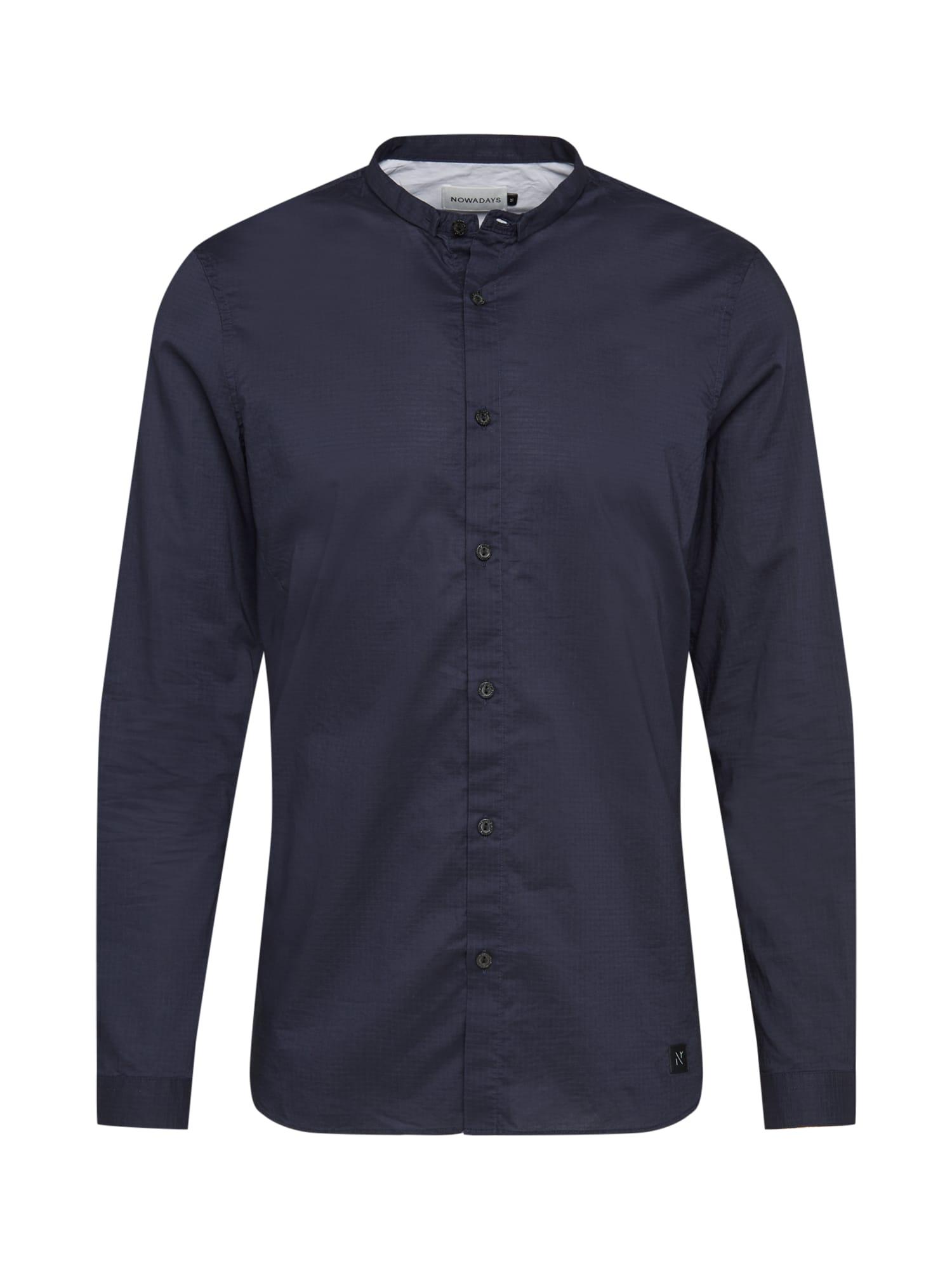 NOWADAYS Marškiniai tamsiai mėlyna