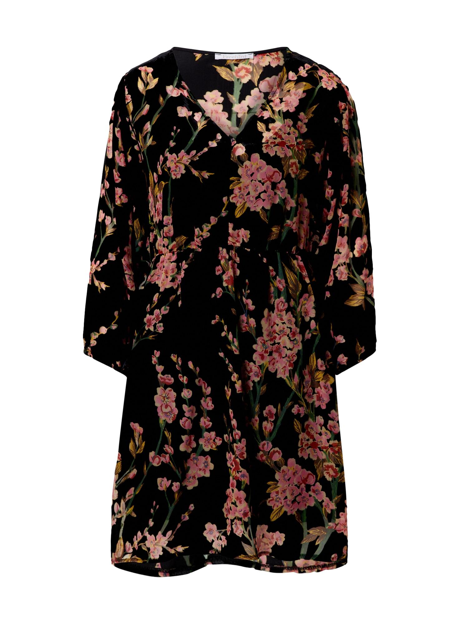 Freebird Suknelė rožinė / juoda