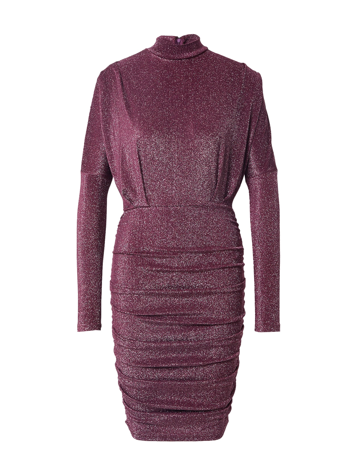 AX Paris Kokteilinė suknelė slyvų spalva