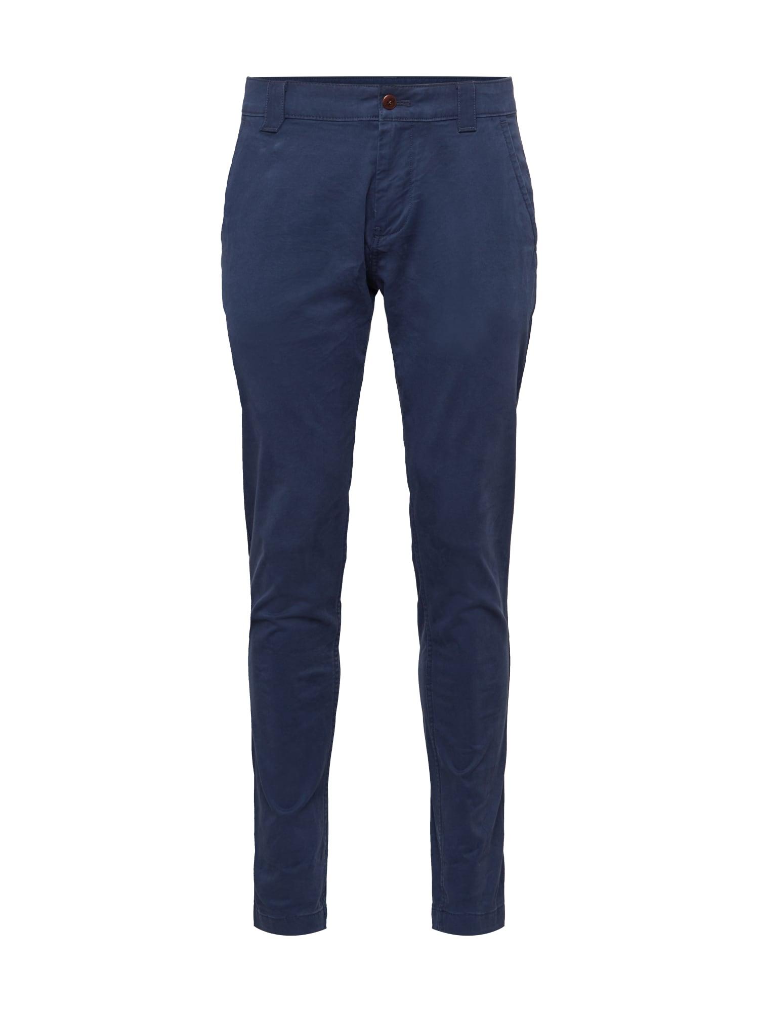 Tommy Jeans Chino kalhoty 'Scanton'  námořnická modř