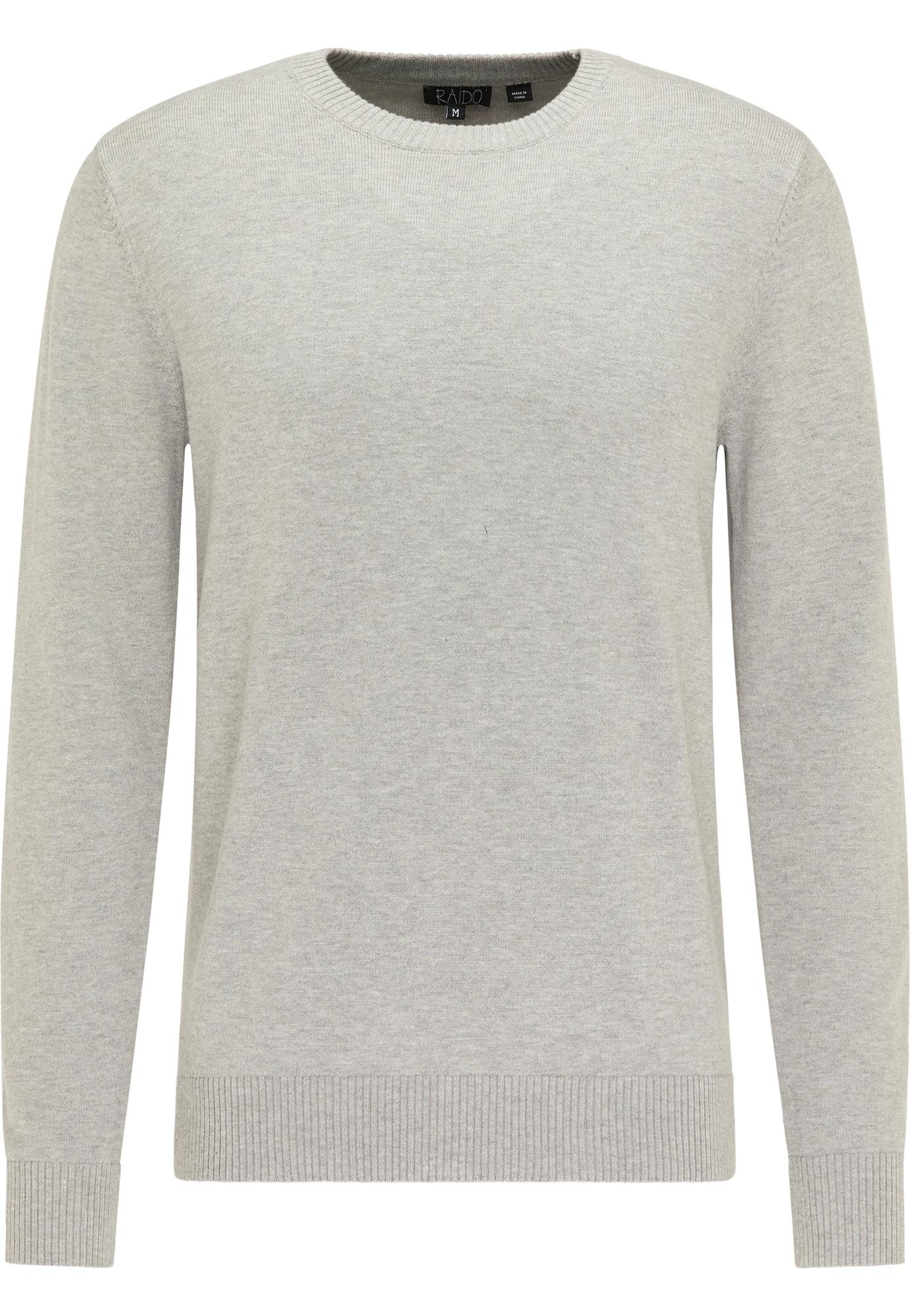 RAIDO Megztinis pilka