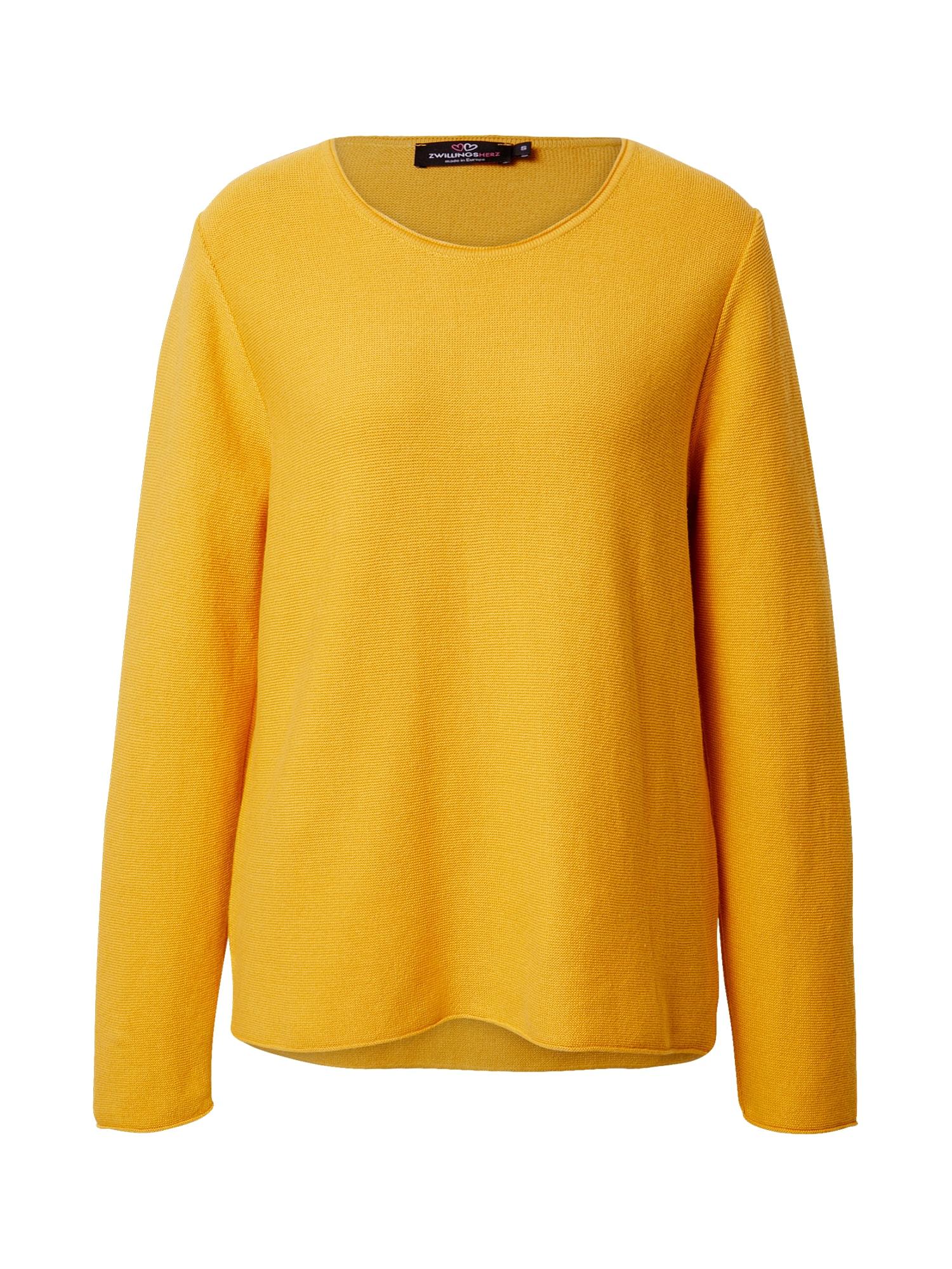 Zwillingsherz Megztinis garstyčių spalva